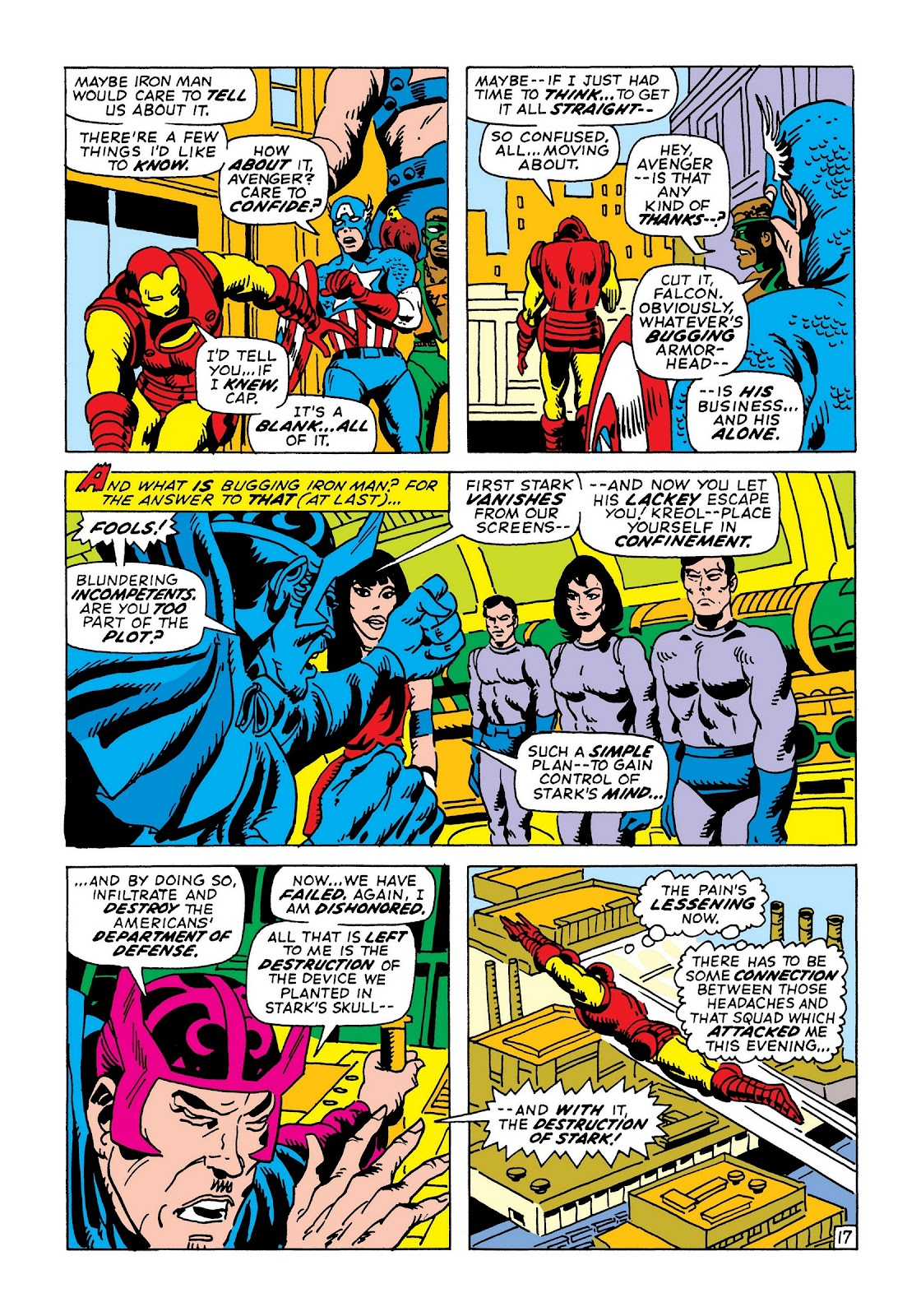Read online Marvel Masterworks: The Invincible Iron Man comic -  Issue # TPB 8 (Part 1) - 23