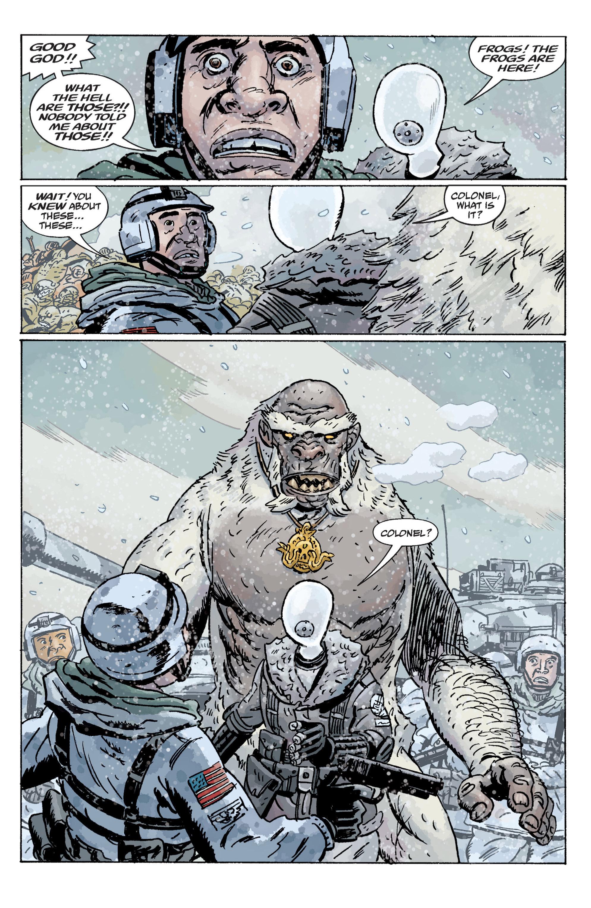 Read online B.P.R.D. (2003) comic -  Issue # TPB 11 - 56