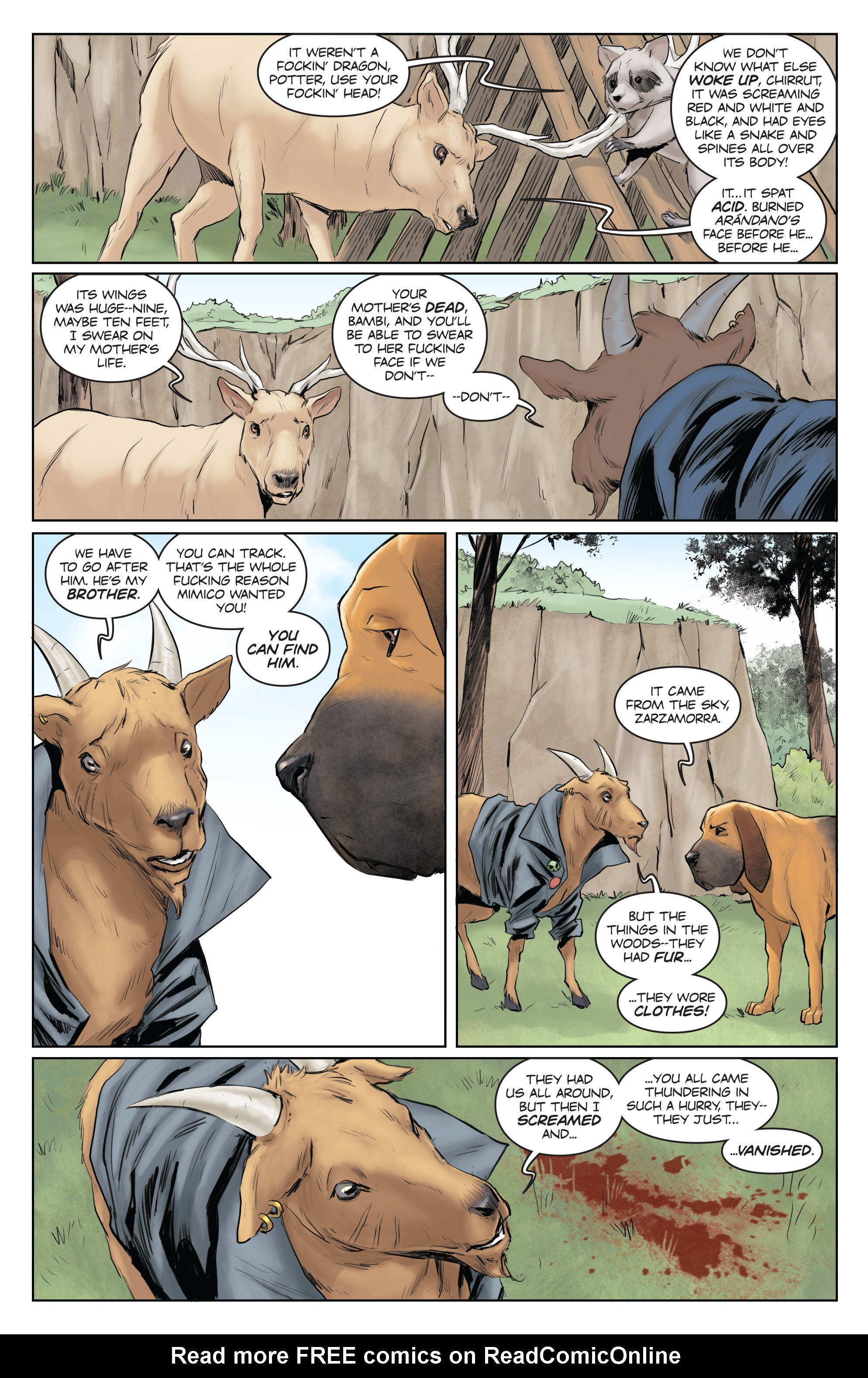 Read online Animosity comic -  Issue #5 - 16