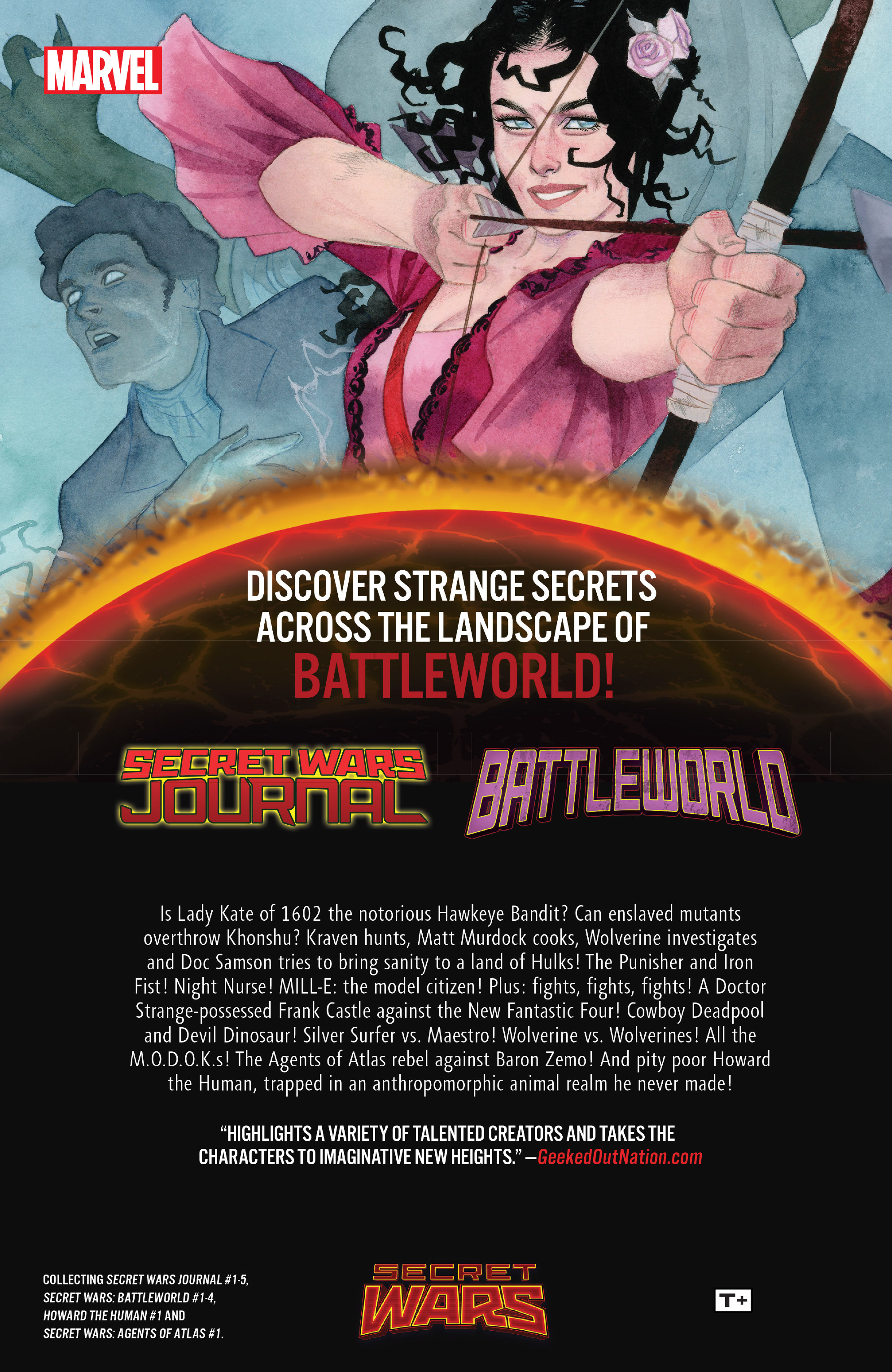 Read online Secret Wars Journal/Battleworld comic -  Issue # TPB - 232