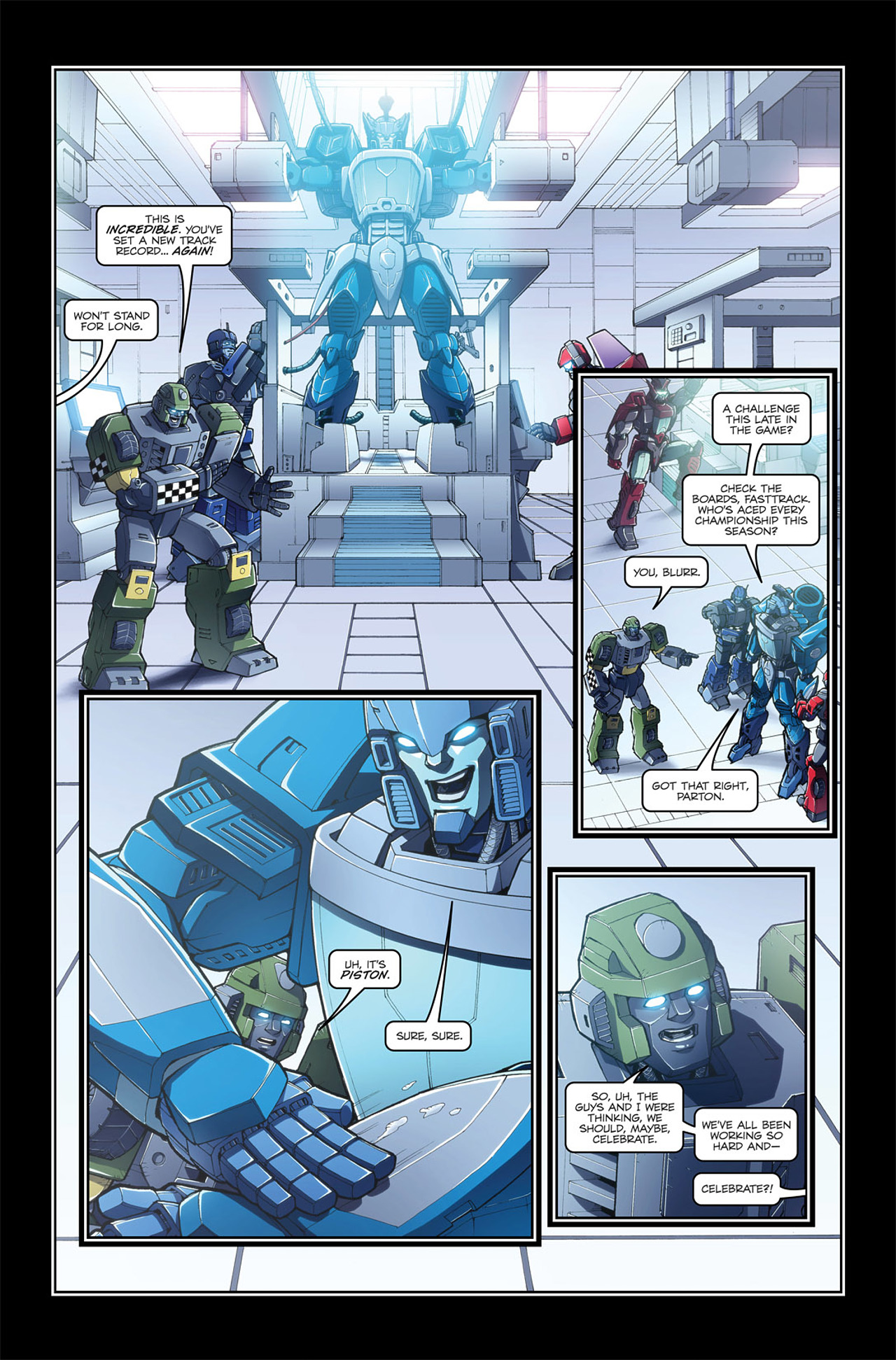 Read online Transformers Spotlight: Blurr comic -  Issue # Full - 7