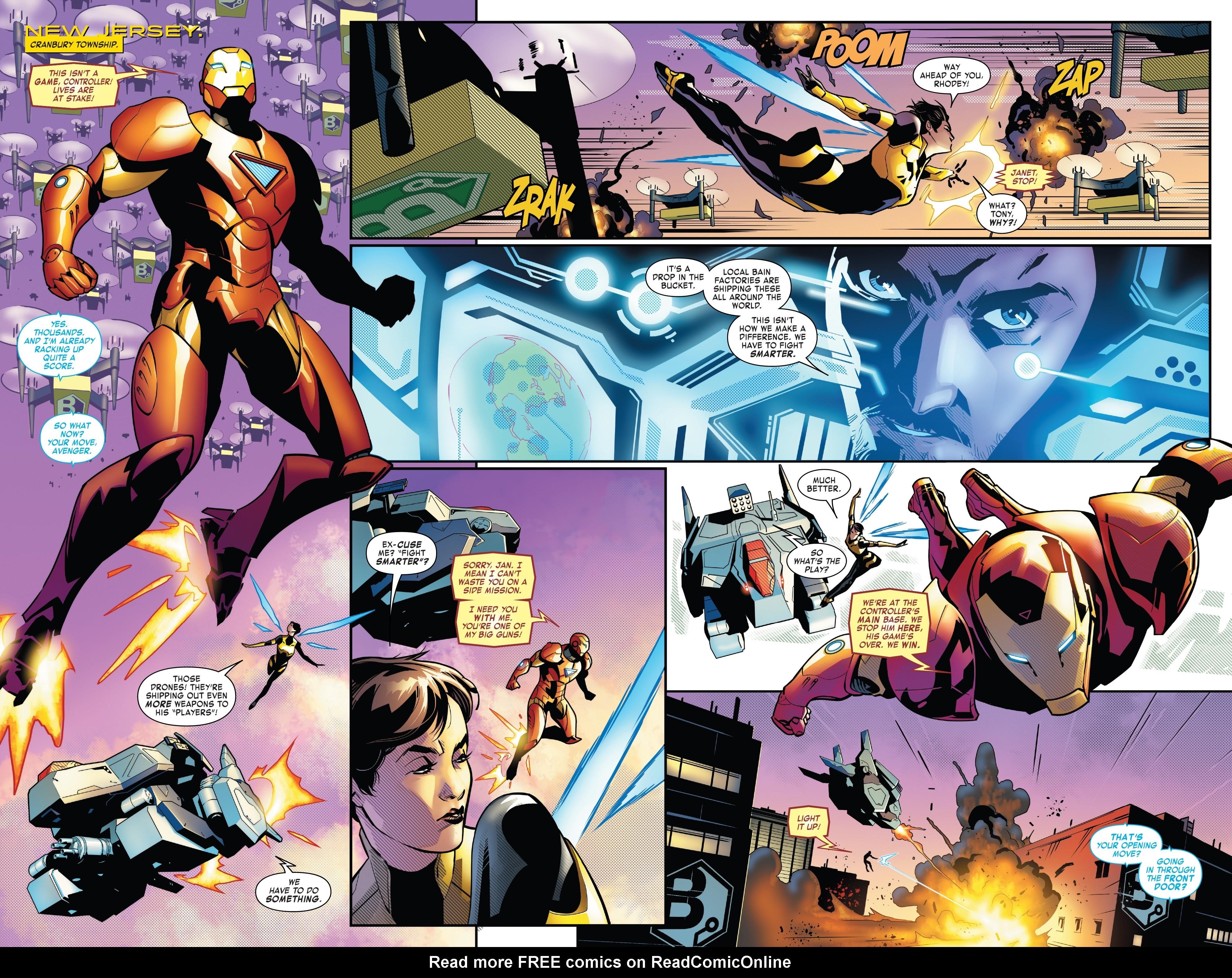 Read online Tony Stark: Iron Man comic -  Issue #8 - 5