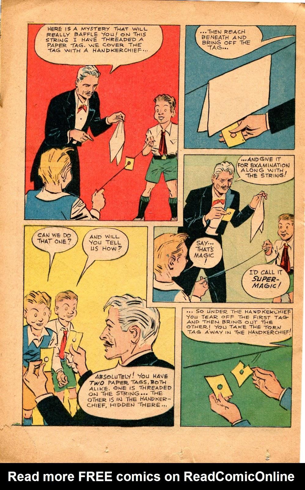 Read online Super-Magician Comics comic -  Issue #34 - 28