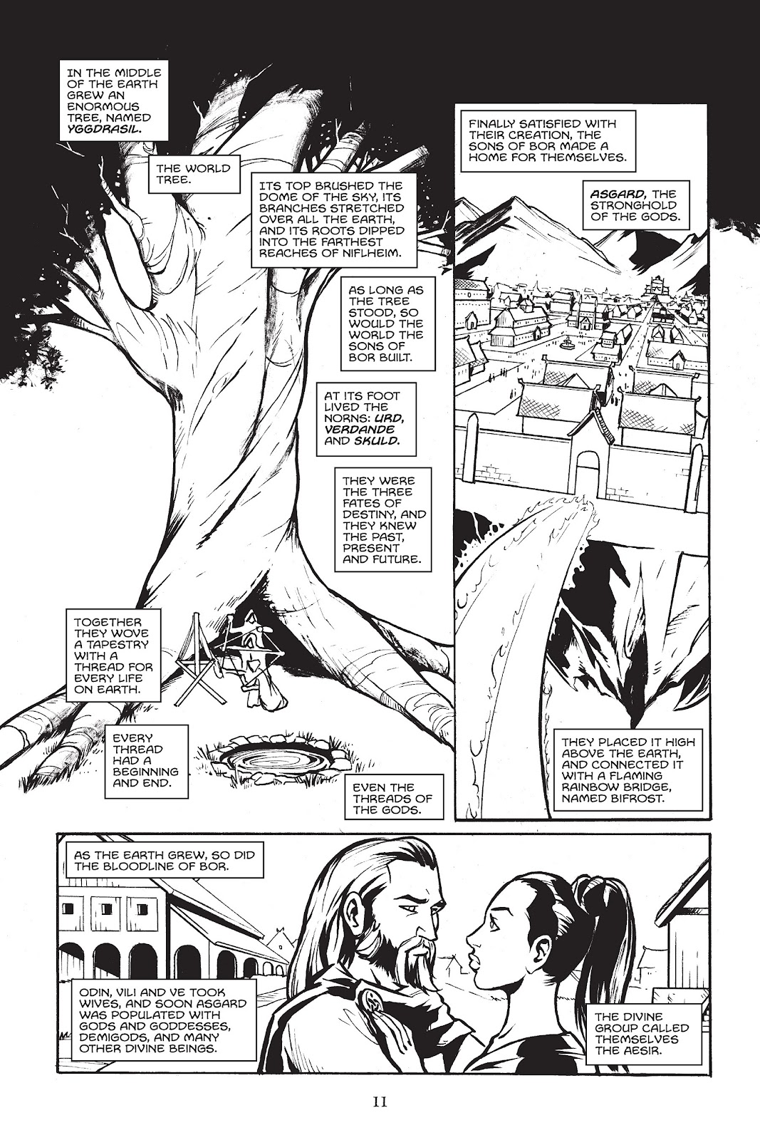 Read online Gods of Asgard comic -  Issue # TPB (Part 1) - 12