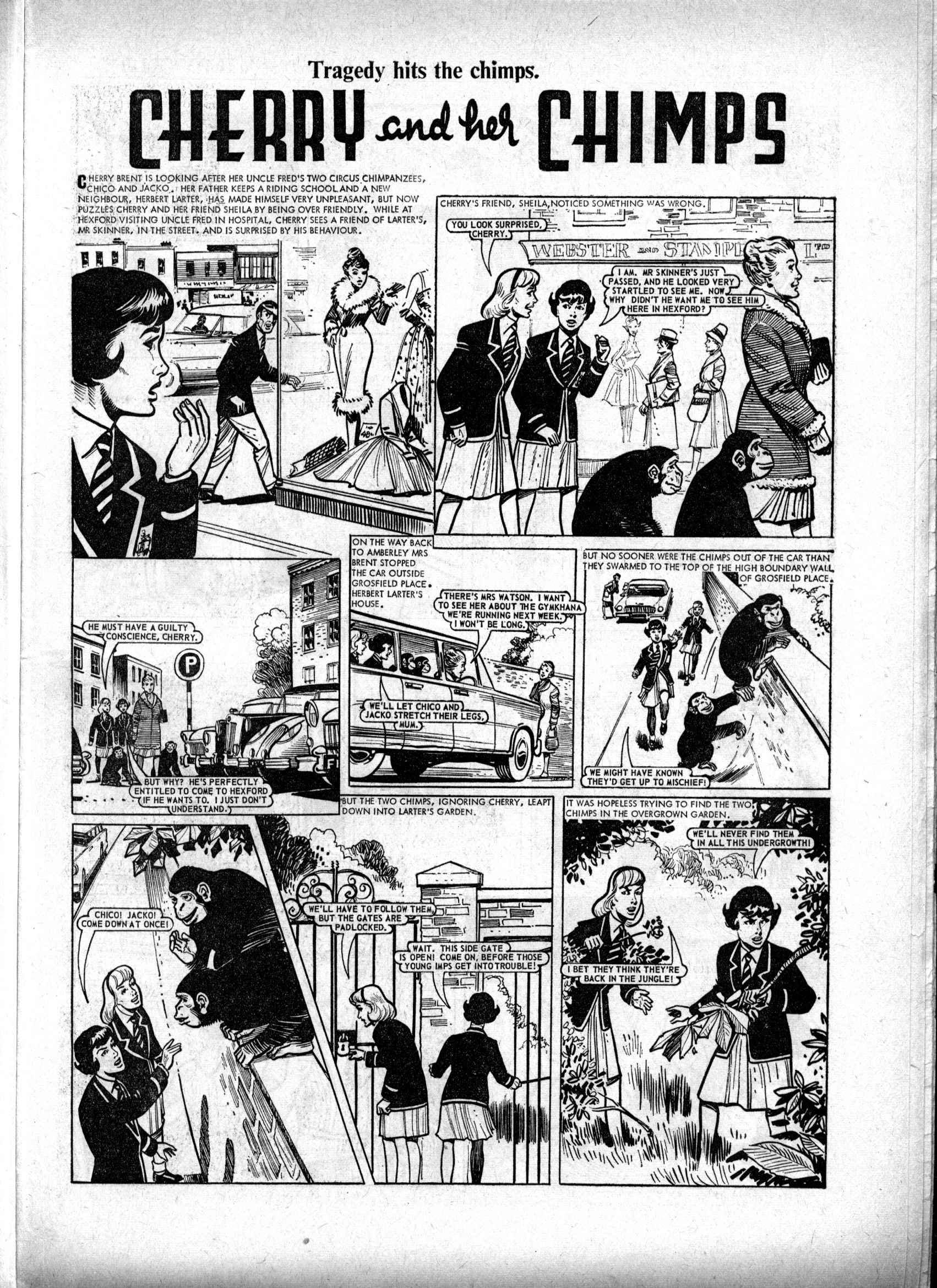 Read online Judy comic -  Issue #224 - 9
