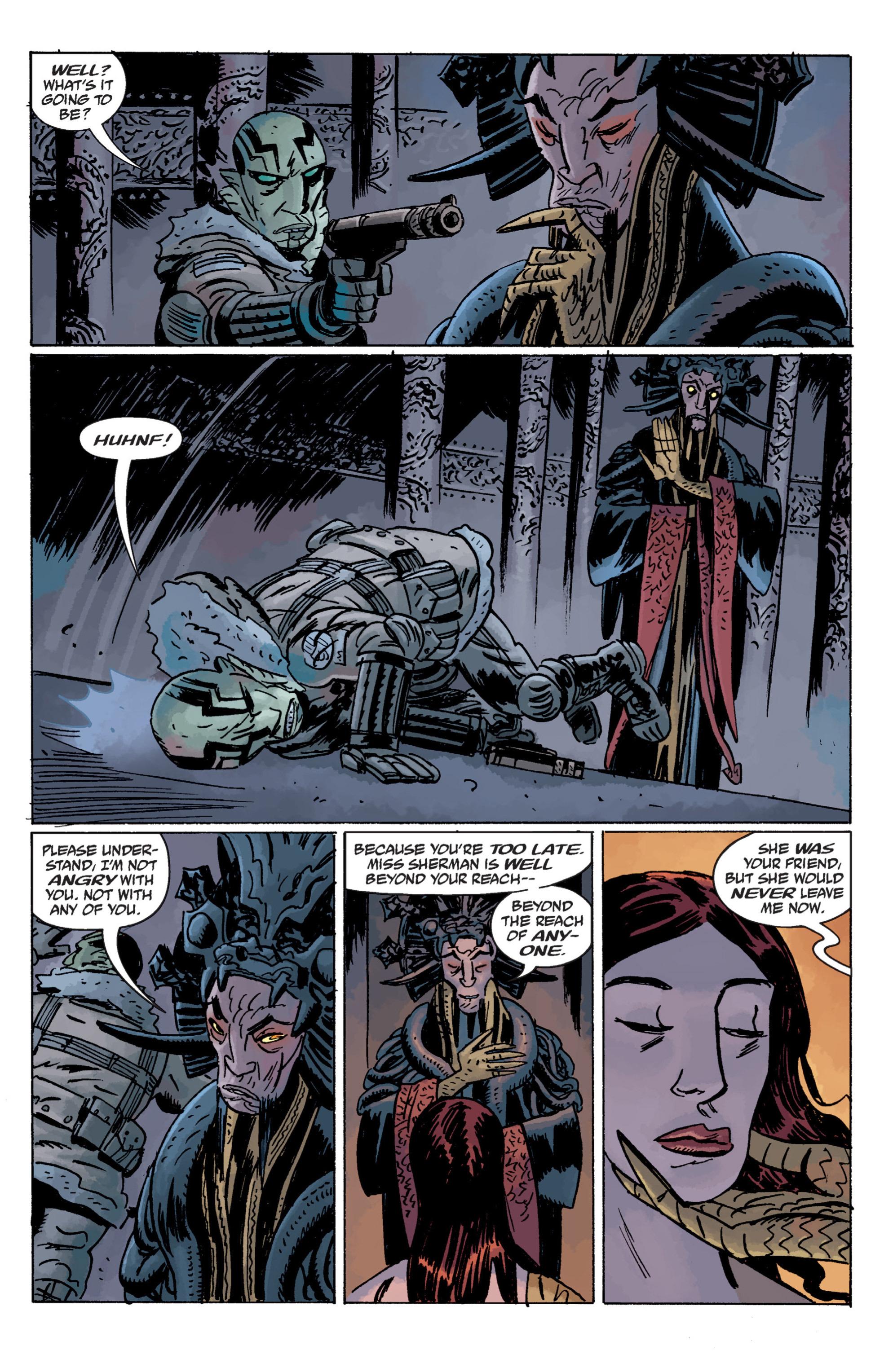 Read online B.P.R.D. (2003) comic -  Issue # TPB 11 - 49