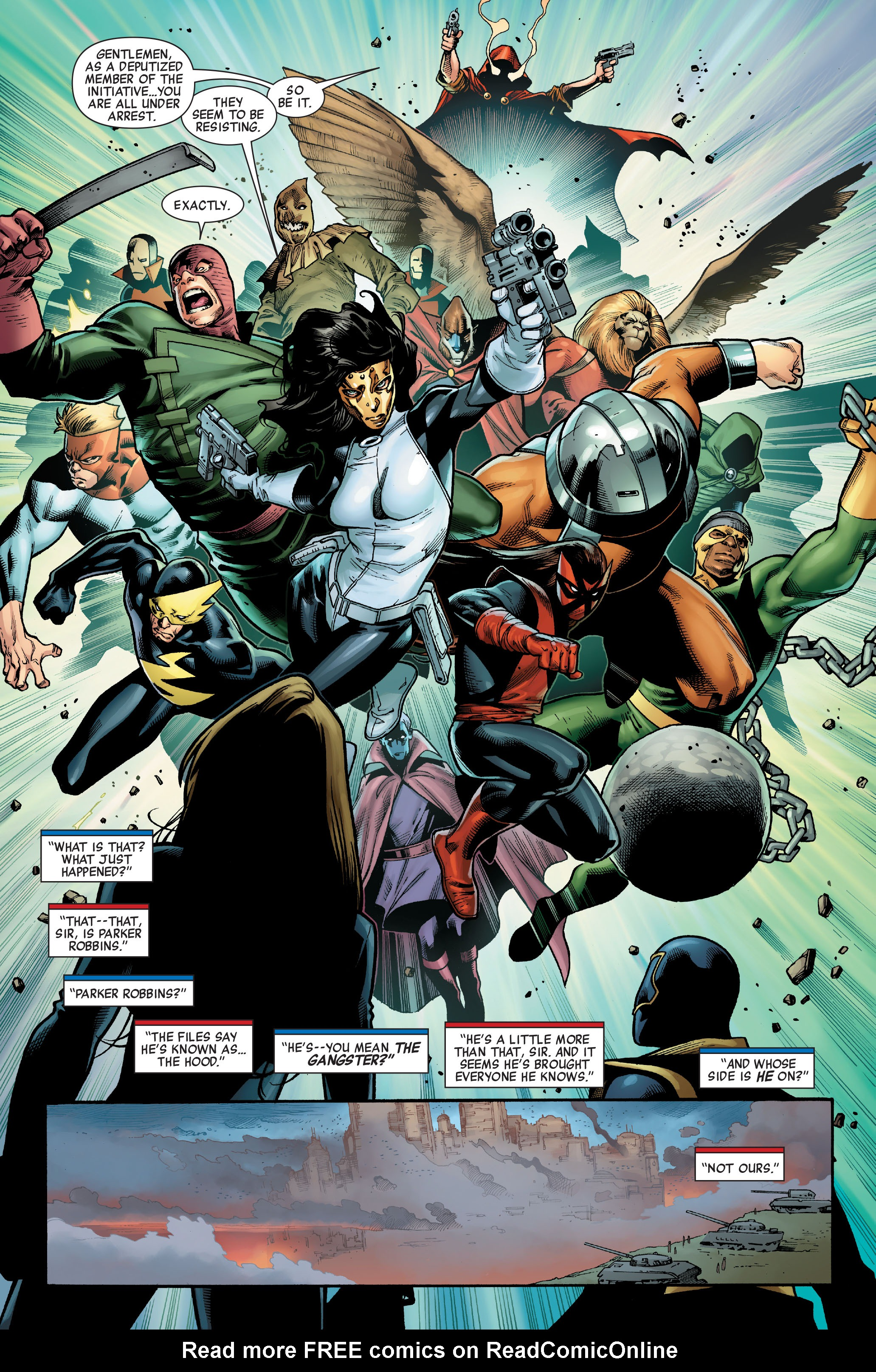 Read online Siege (2010) comic -  Issue #3 - 9