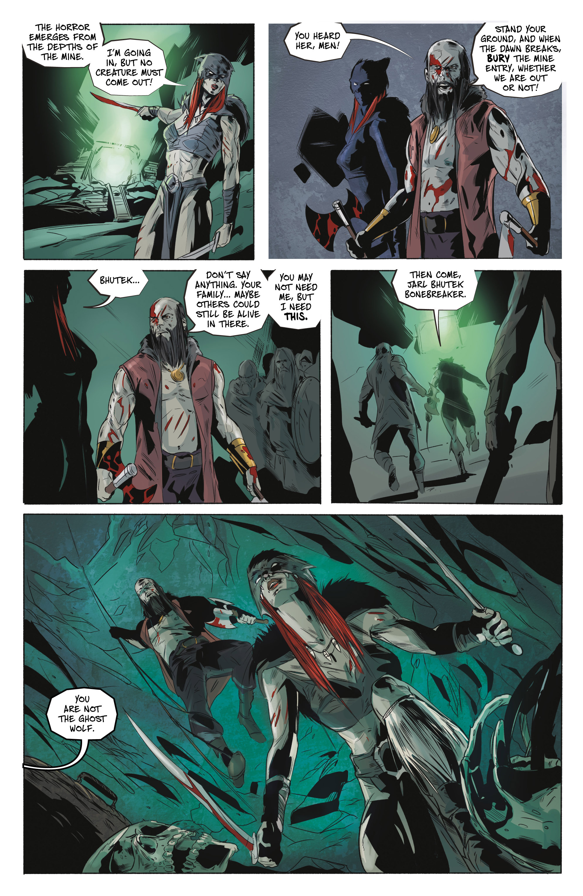 Read online Ghost Wolf comic -  Issue #4 - 19