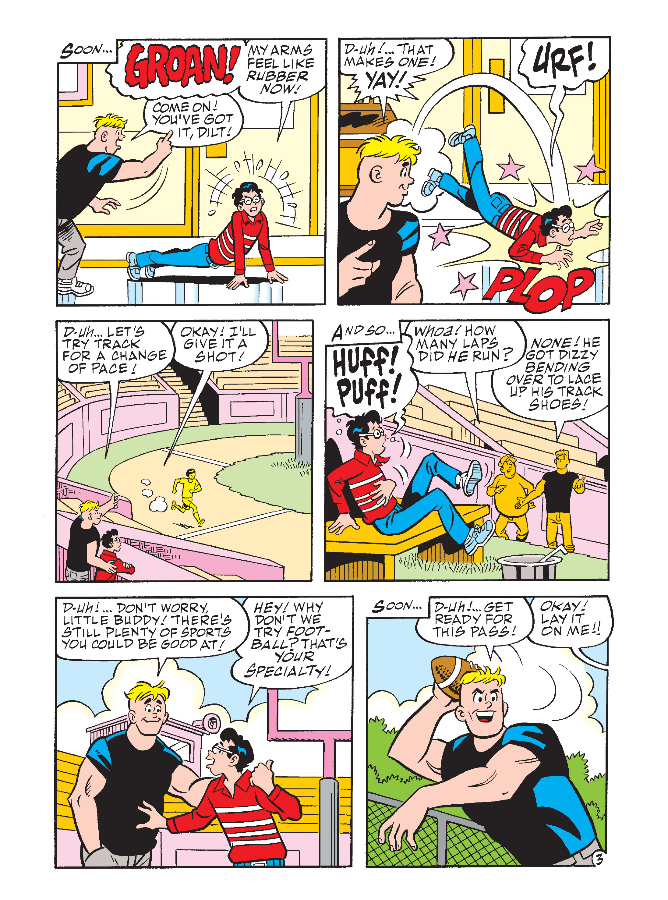 Read online Archie's Funhouse Double Digest comic -  Issue #10 - 70