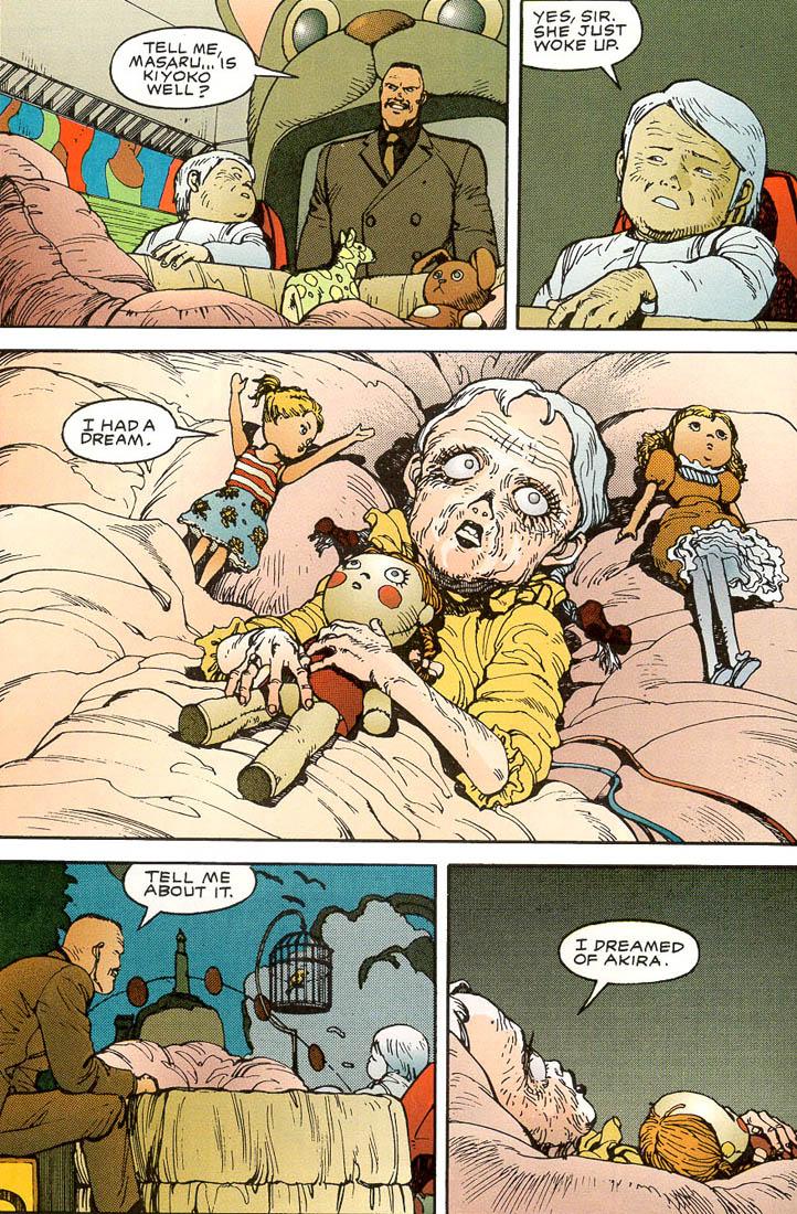Read online Akira comic -  Issue #3 - 38
