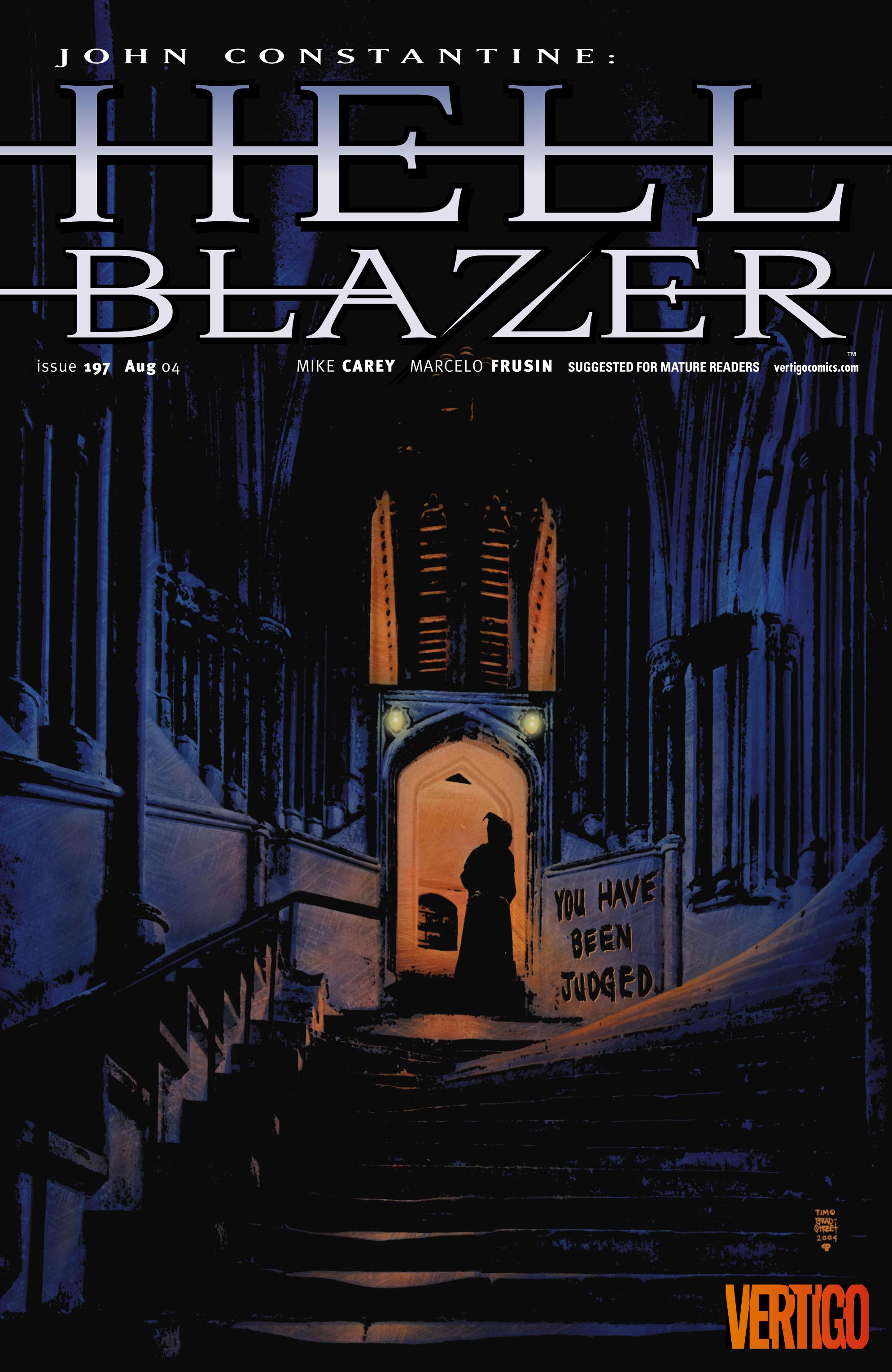 Hellblazer issue 197 - Page 1