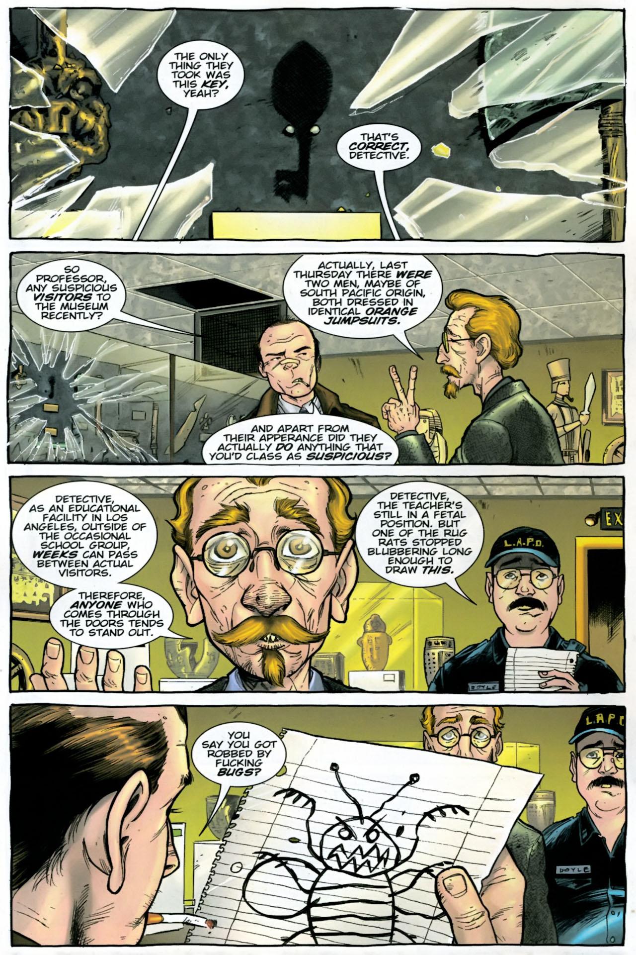Read online The Exterminators comic -  Issue #28 - 5