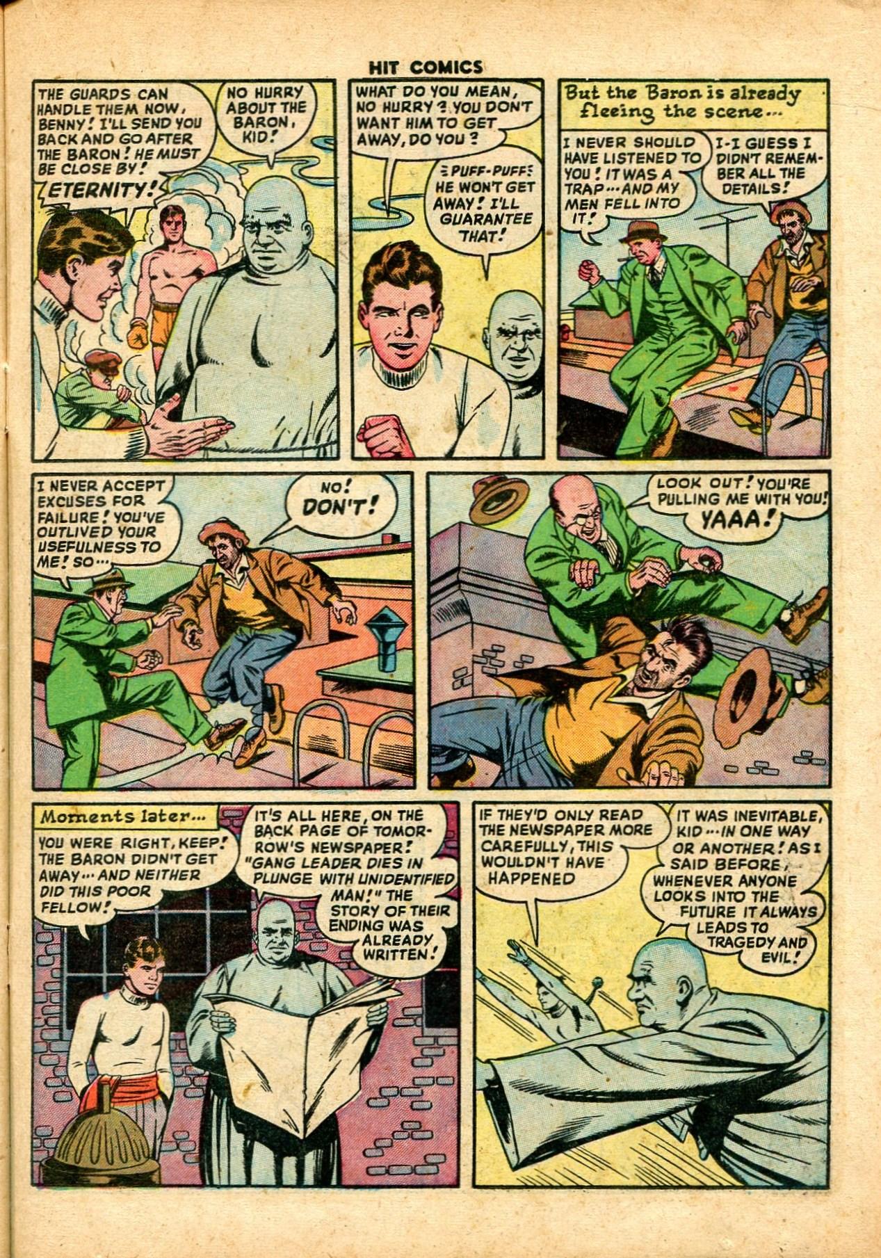 Read online Hit Comics comic -  Issue #59 - 15