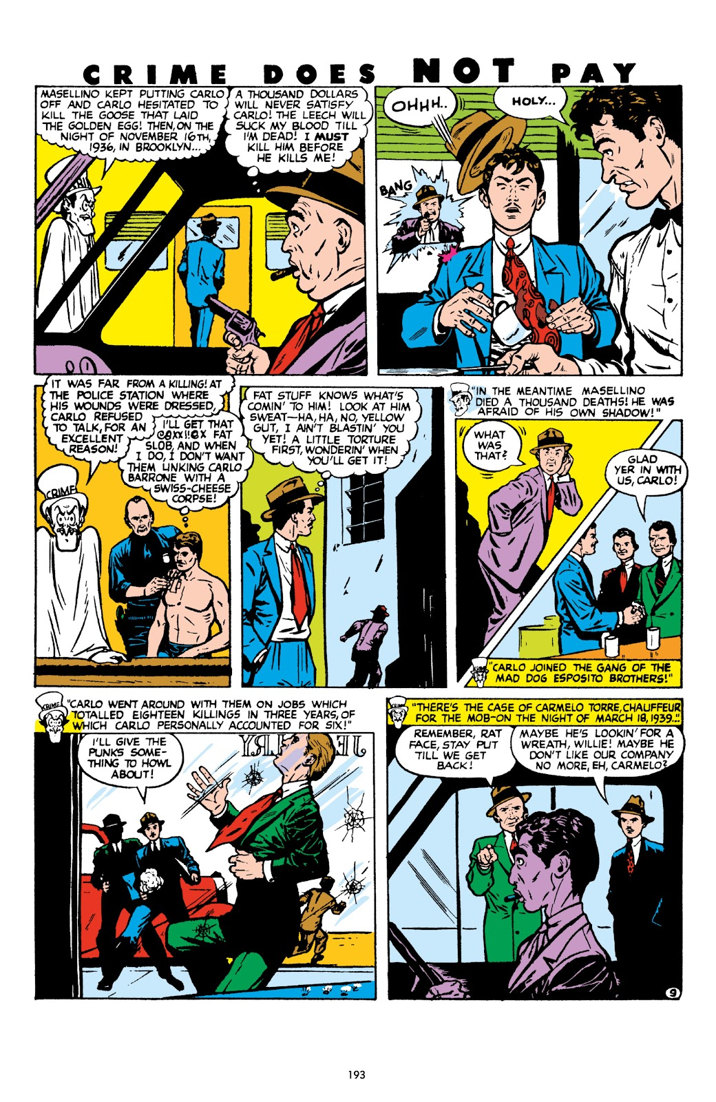 Read online Crime Does Not Pay Archives comic -  Issue # TPB 8 (Part 2) - 94