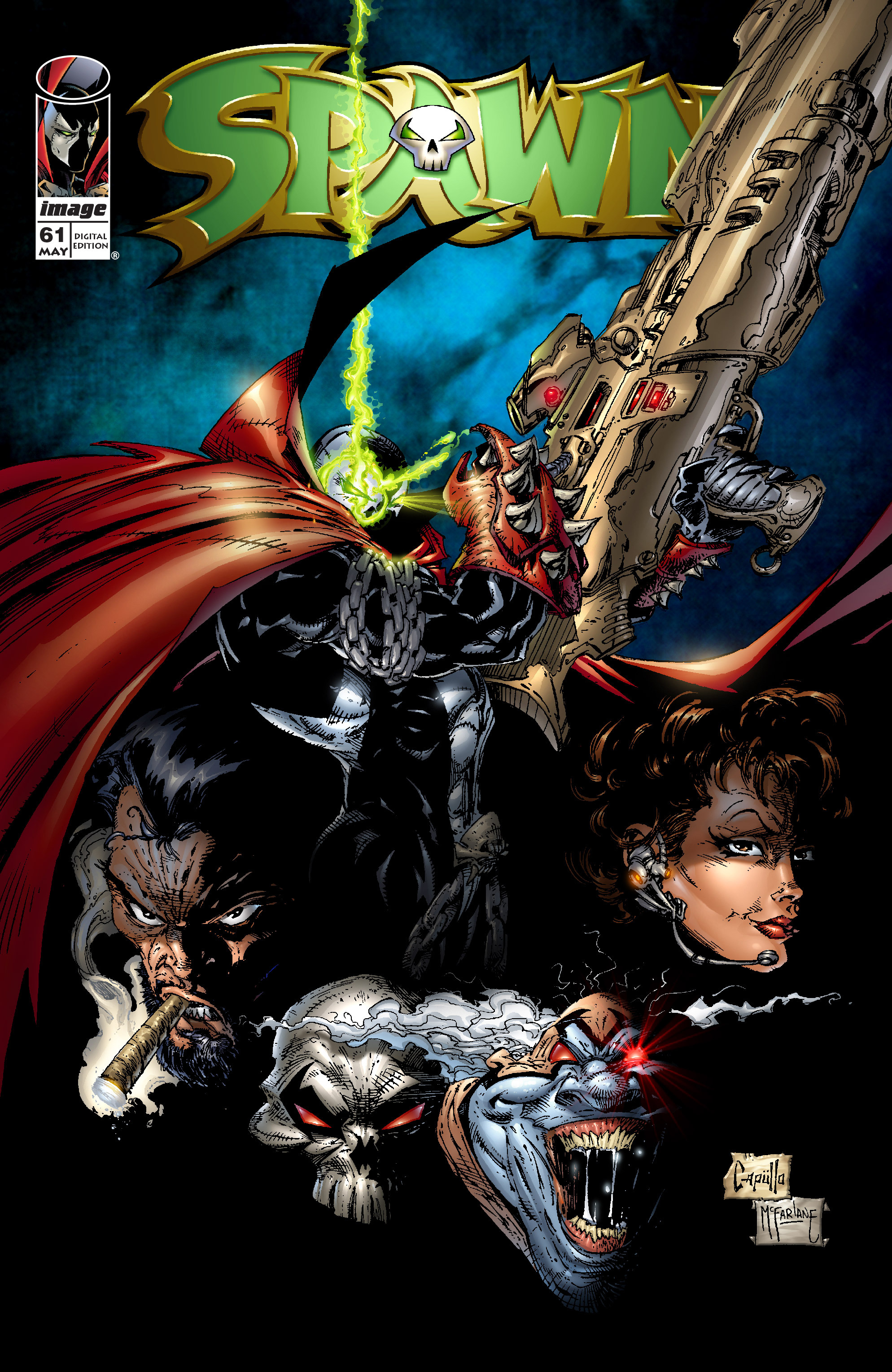 Spawn 61 Page 1