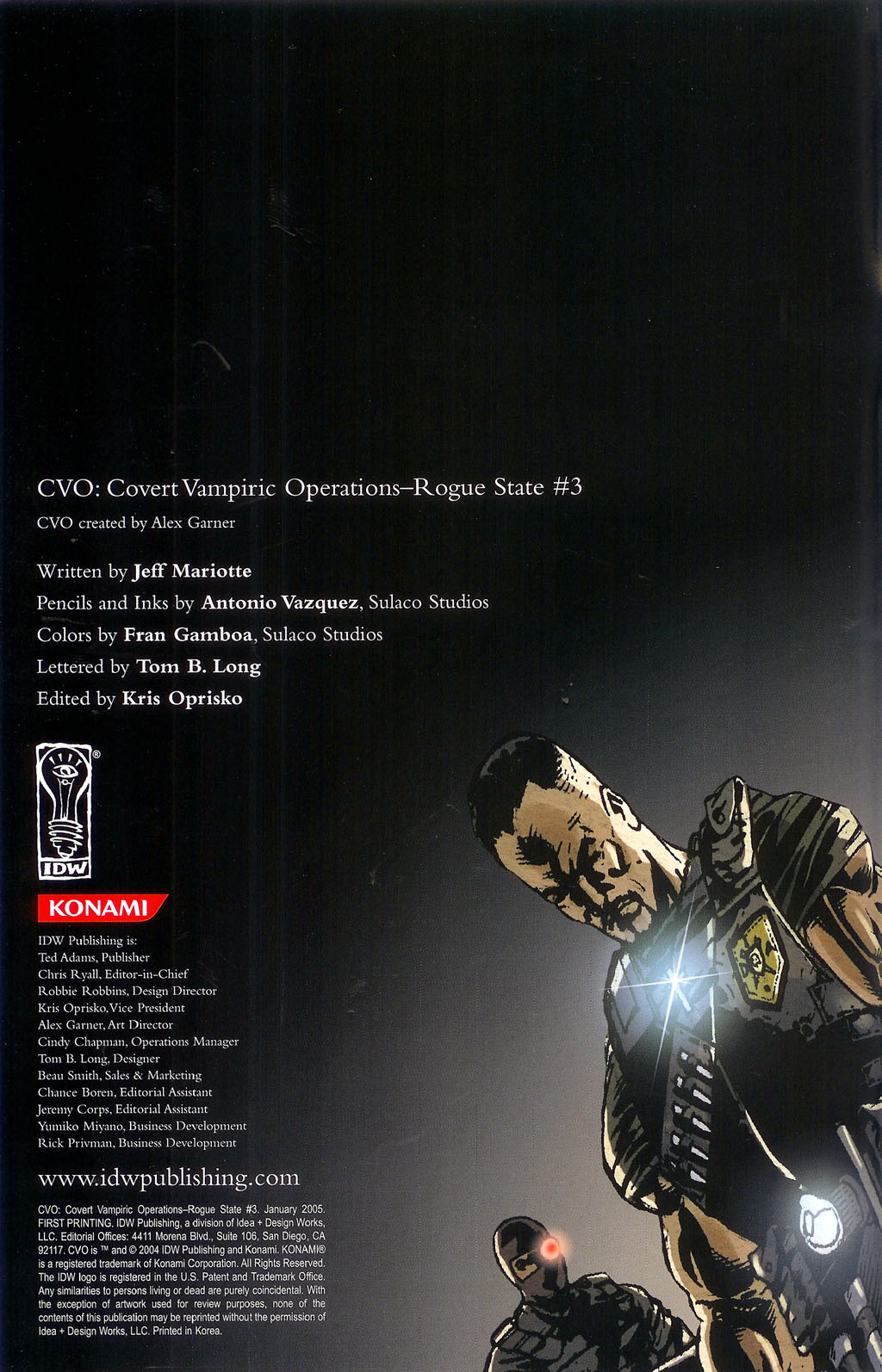 CVO: Covert Vampiric Operations - Rogue State 3 Page 2