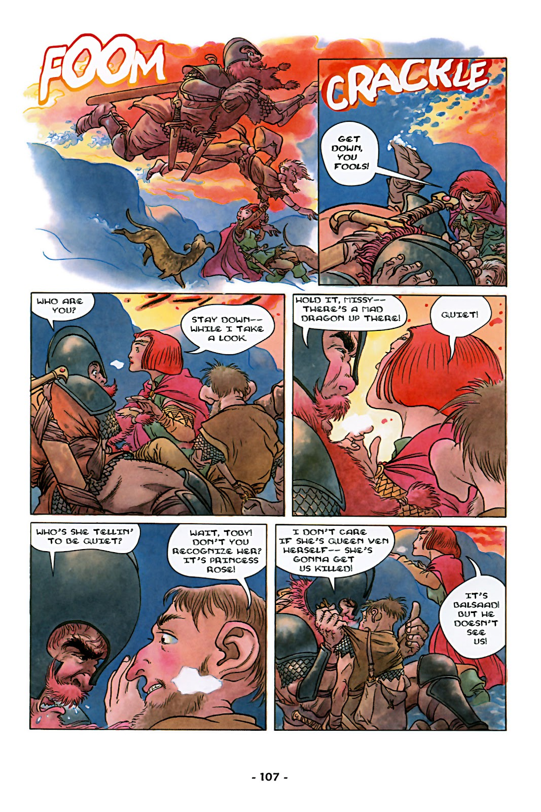 Read online Rose (2000) comic -  Issue # TPB - 112
