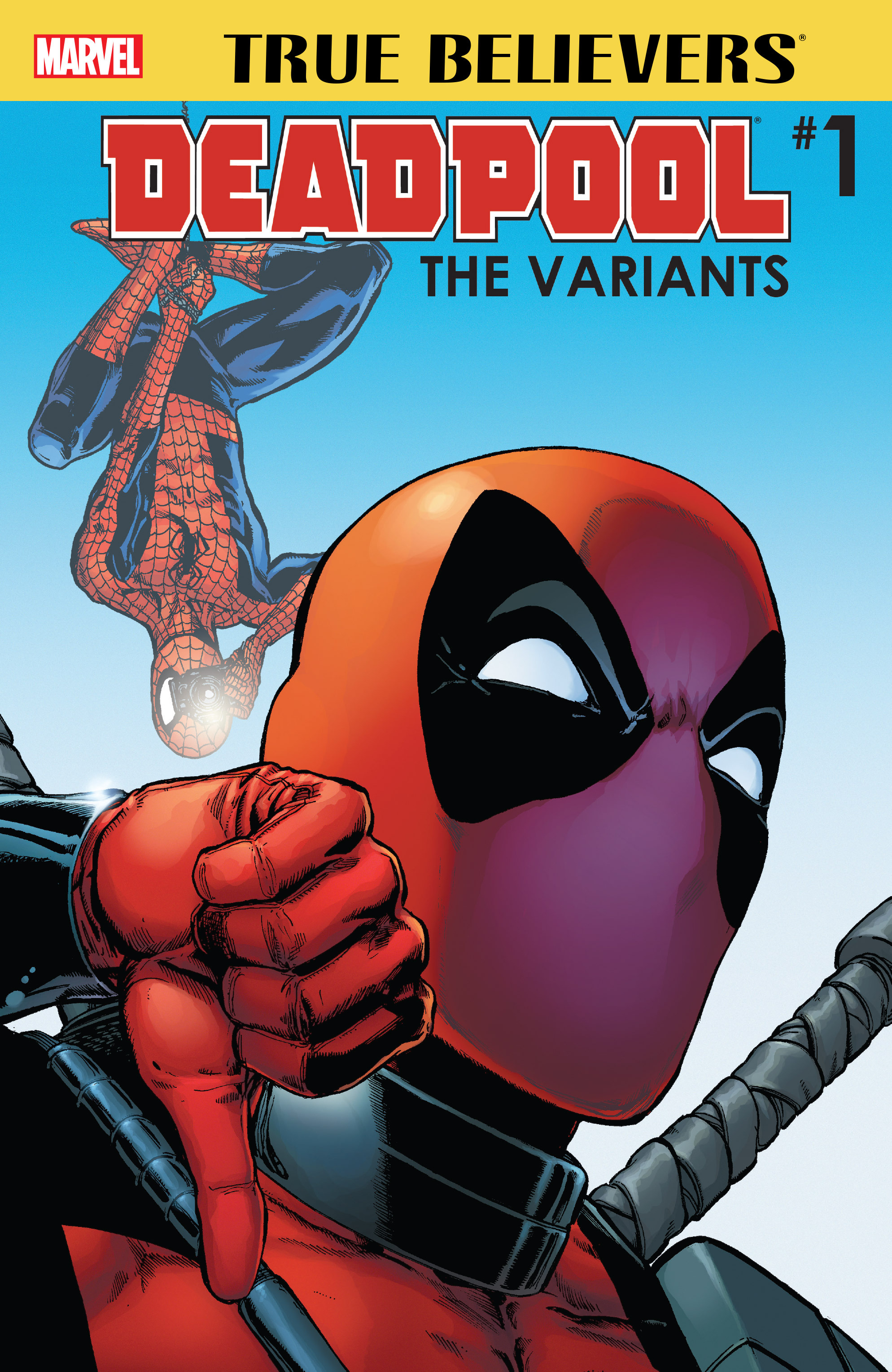 Read online True Believers: Deadpool Variants comic -  Issue # Full - 1