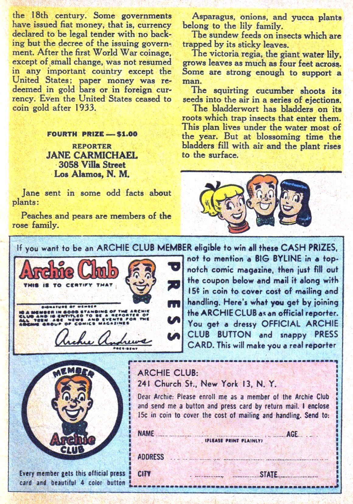 Read online Archie (1960) comic -  Issue #120 - 27