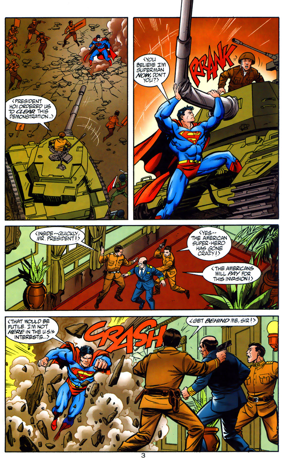 Read online Adventures of Superman (1987) comic -  Issue #565 - 4