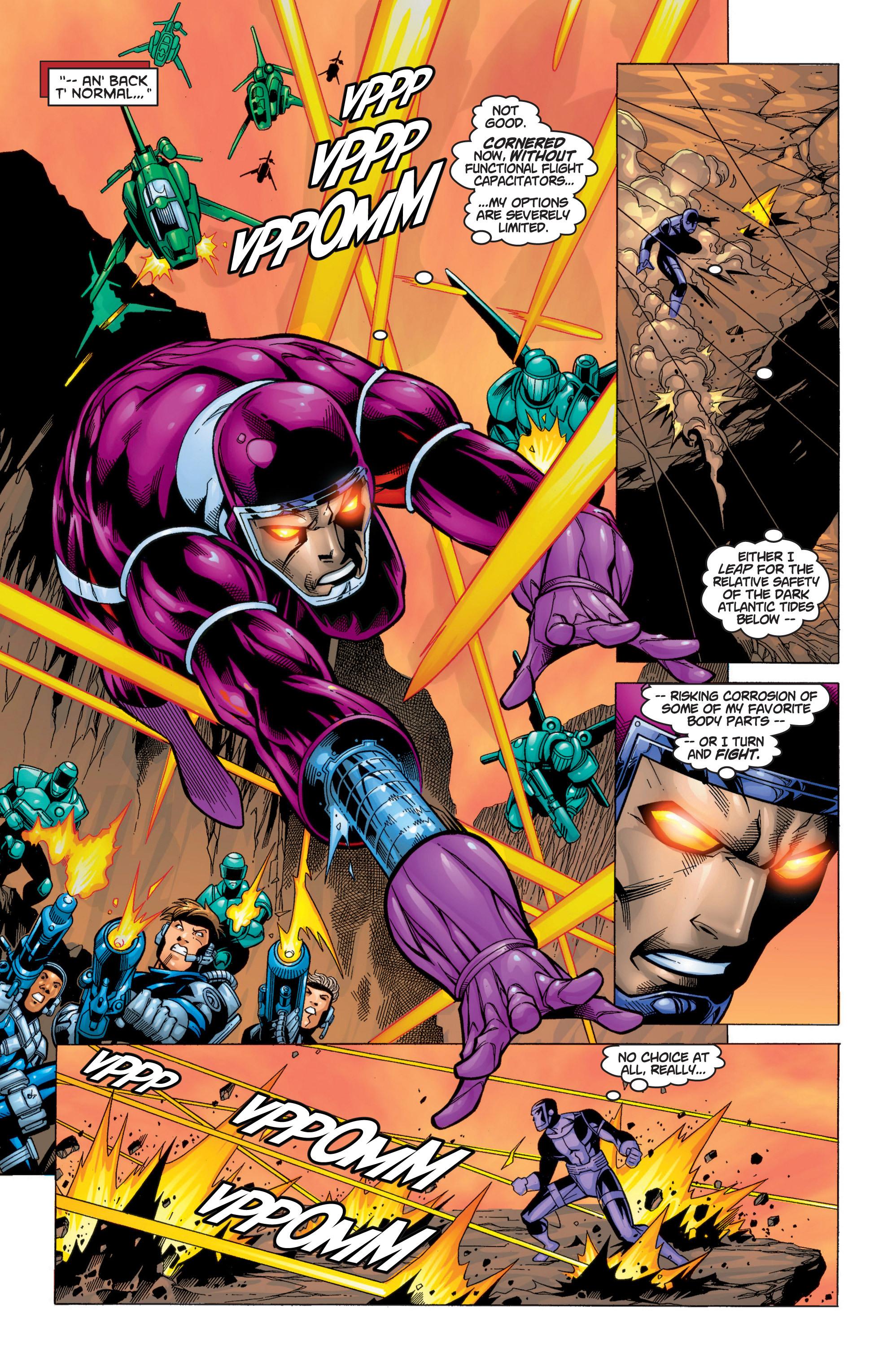 Read online Uncanny X-Men (1963) comic -  Issue #371 - 8