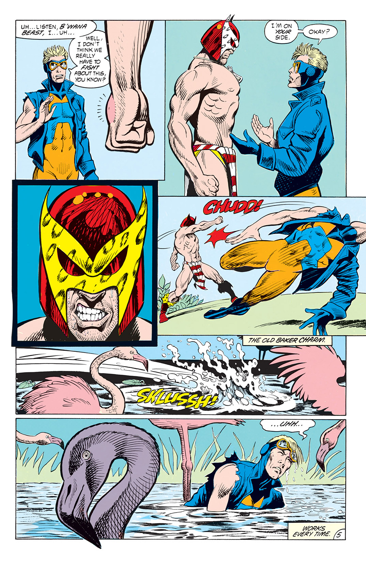 Read online Animal Man (1988) comic -  Issue #4 - 7