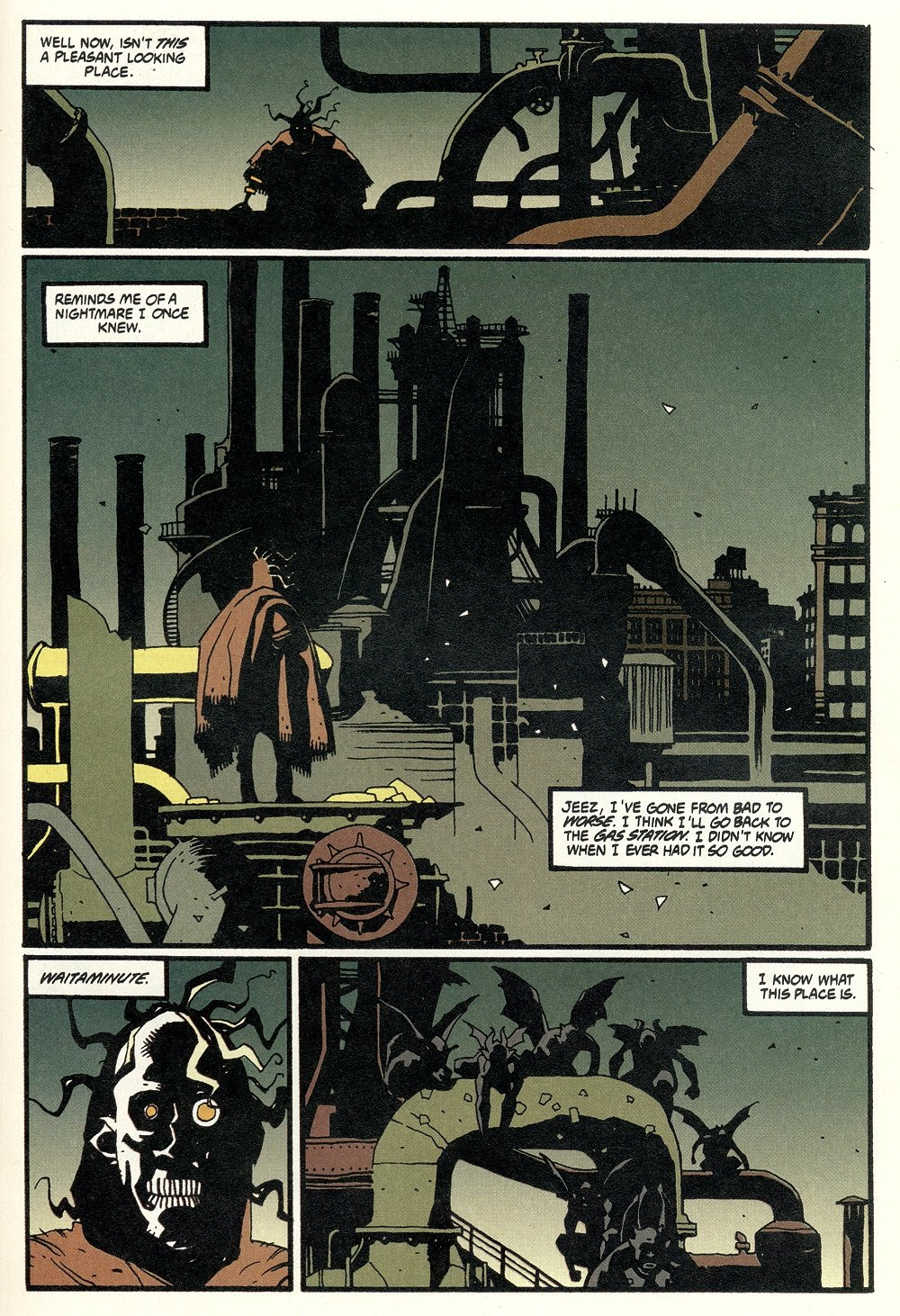 Read online Ted McKeever's Metropol comic -  Issue #11 - 23