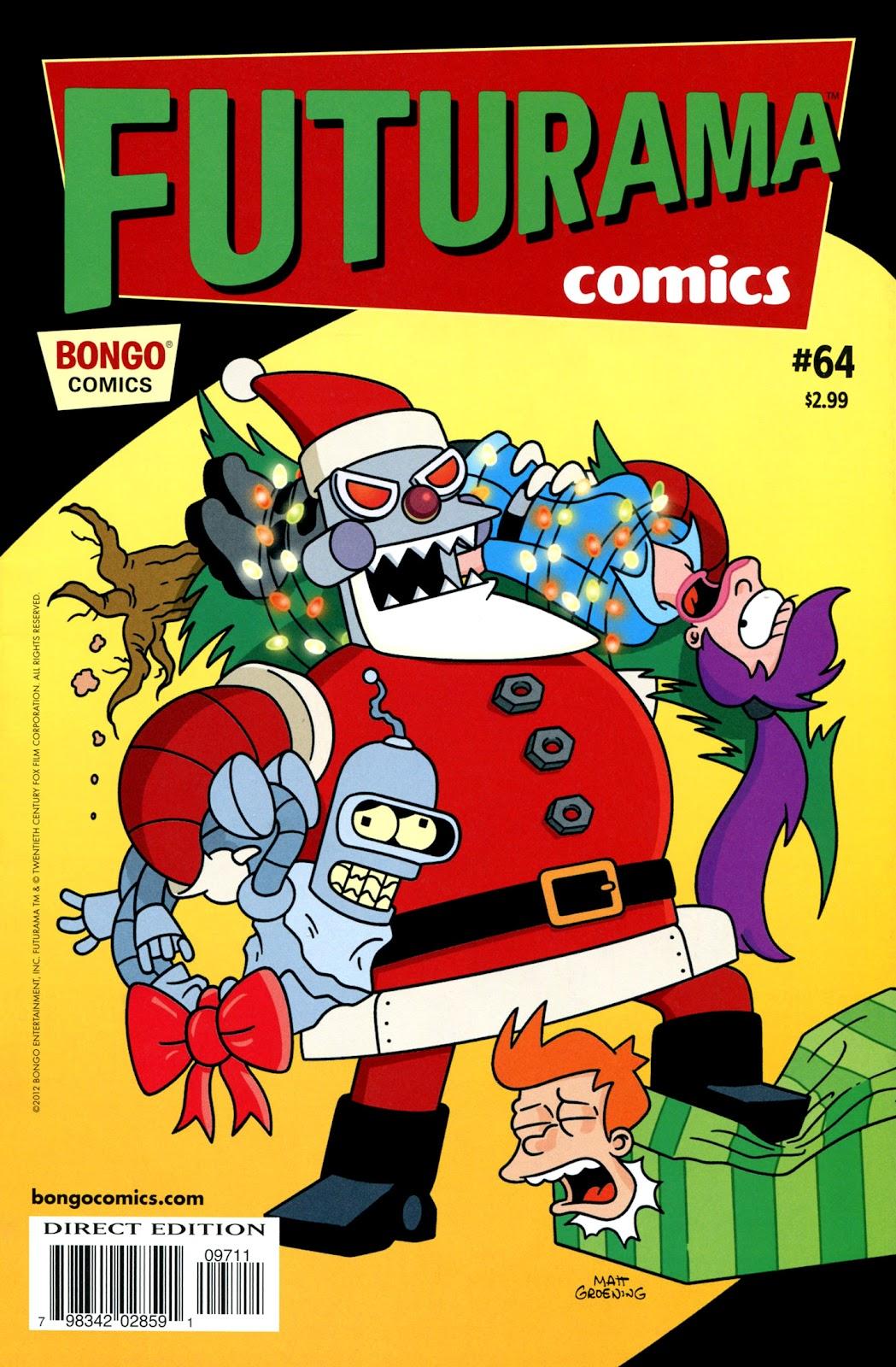 Futurama Comics issue 64 - Page 1