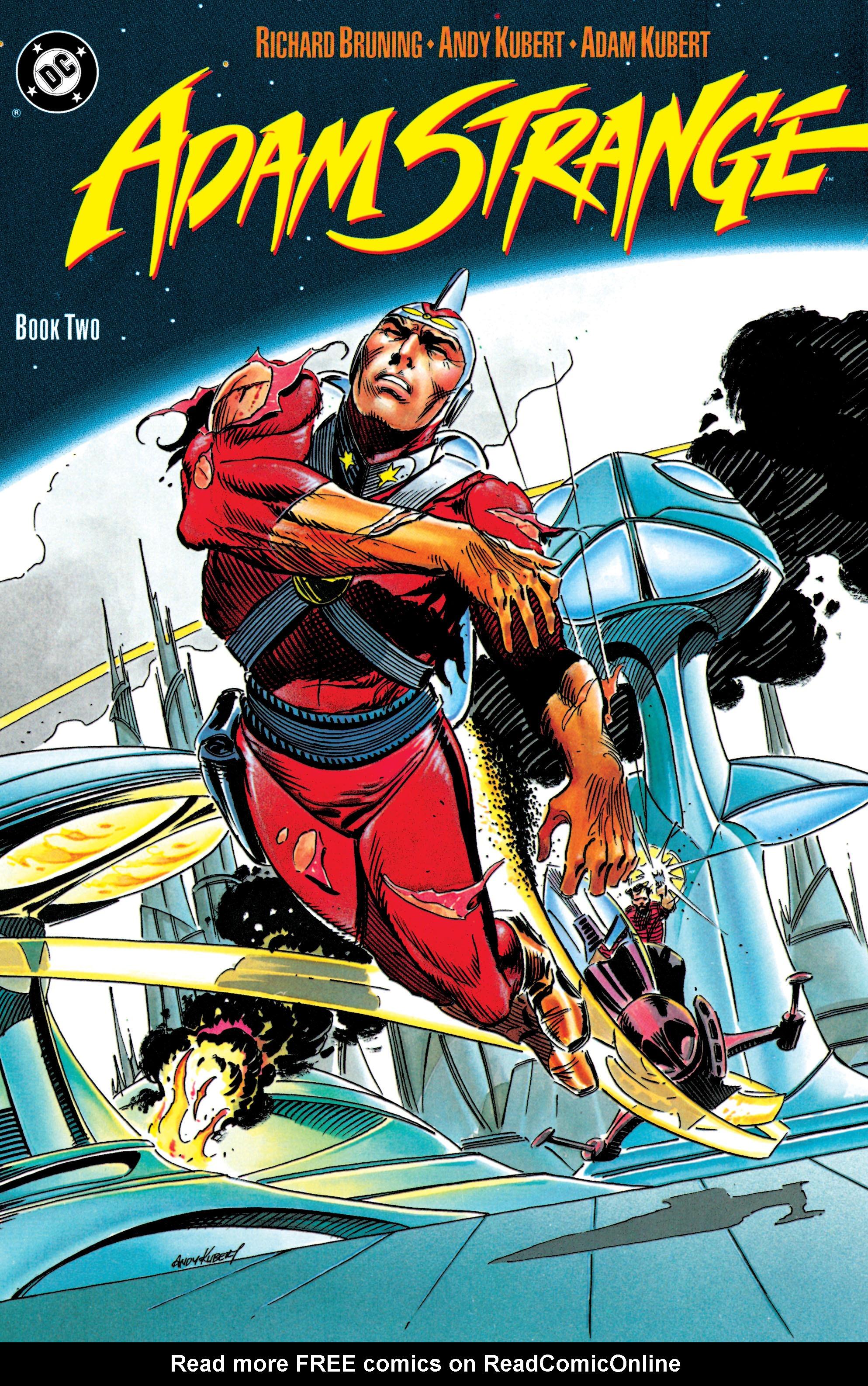 Read online Adam Strange (1990) comic -  Issue #2 - 1