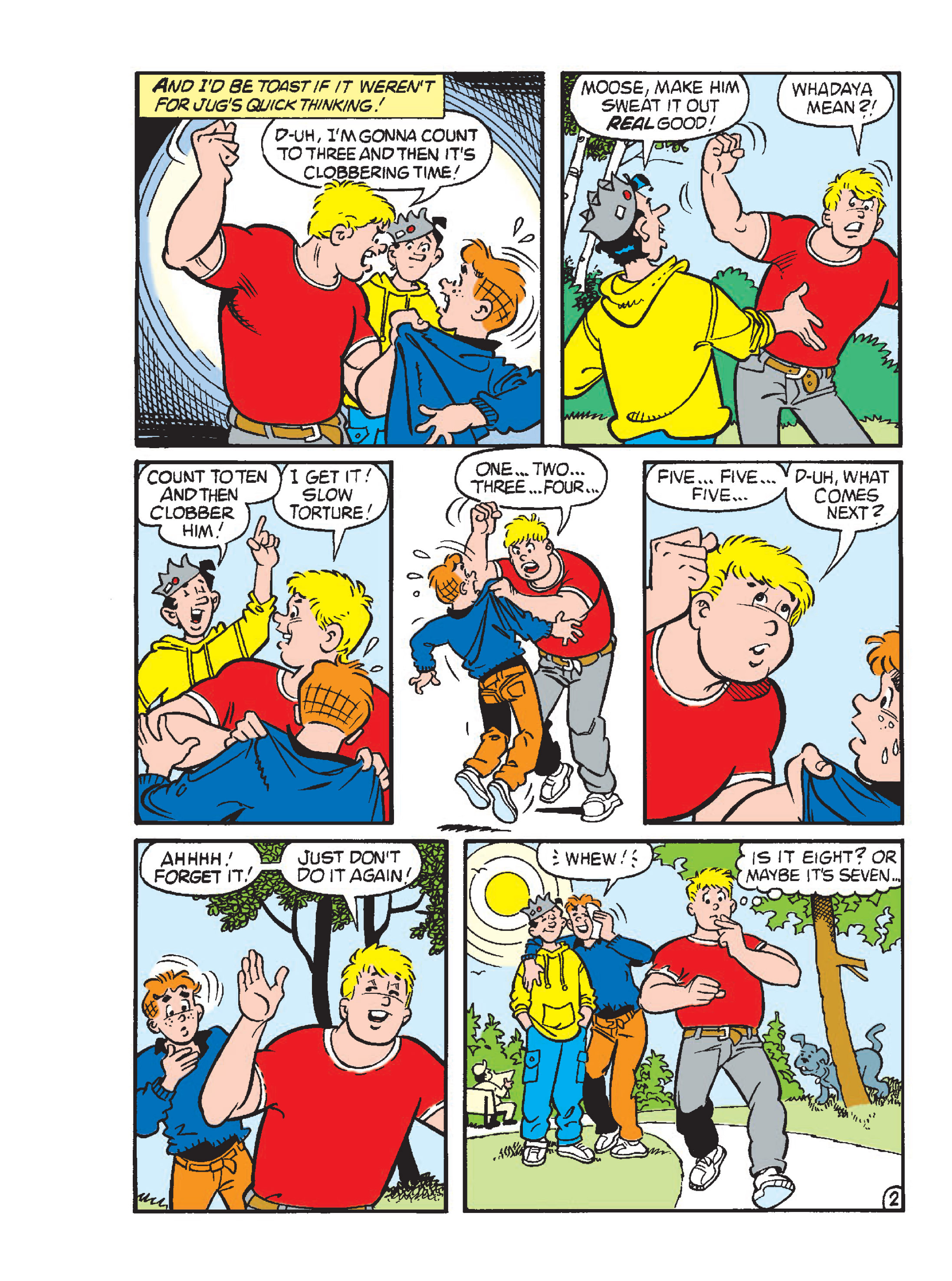 Read online Archie 1000 Page Comics Blowout! comic -  Issue # TPB (Part 1) - 123