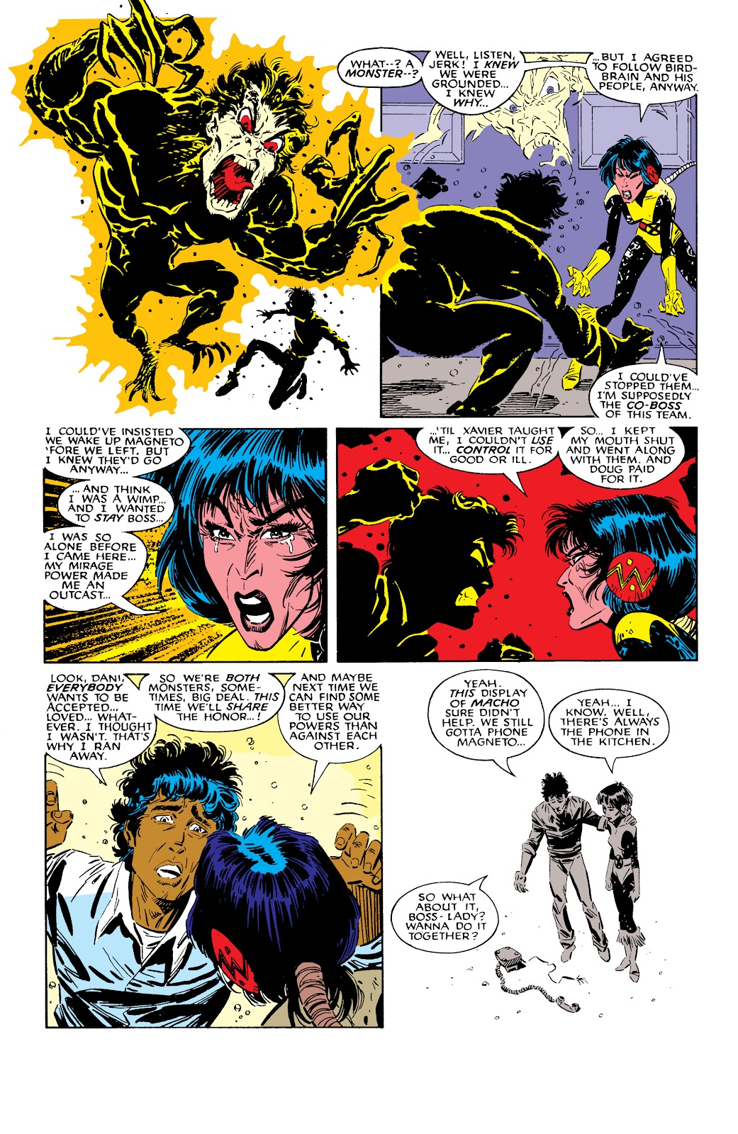 Read online X-Men Milestones: Fall of the Mutants comic -  Issue # TPB (Part 2) - 71