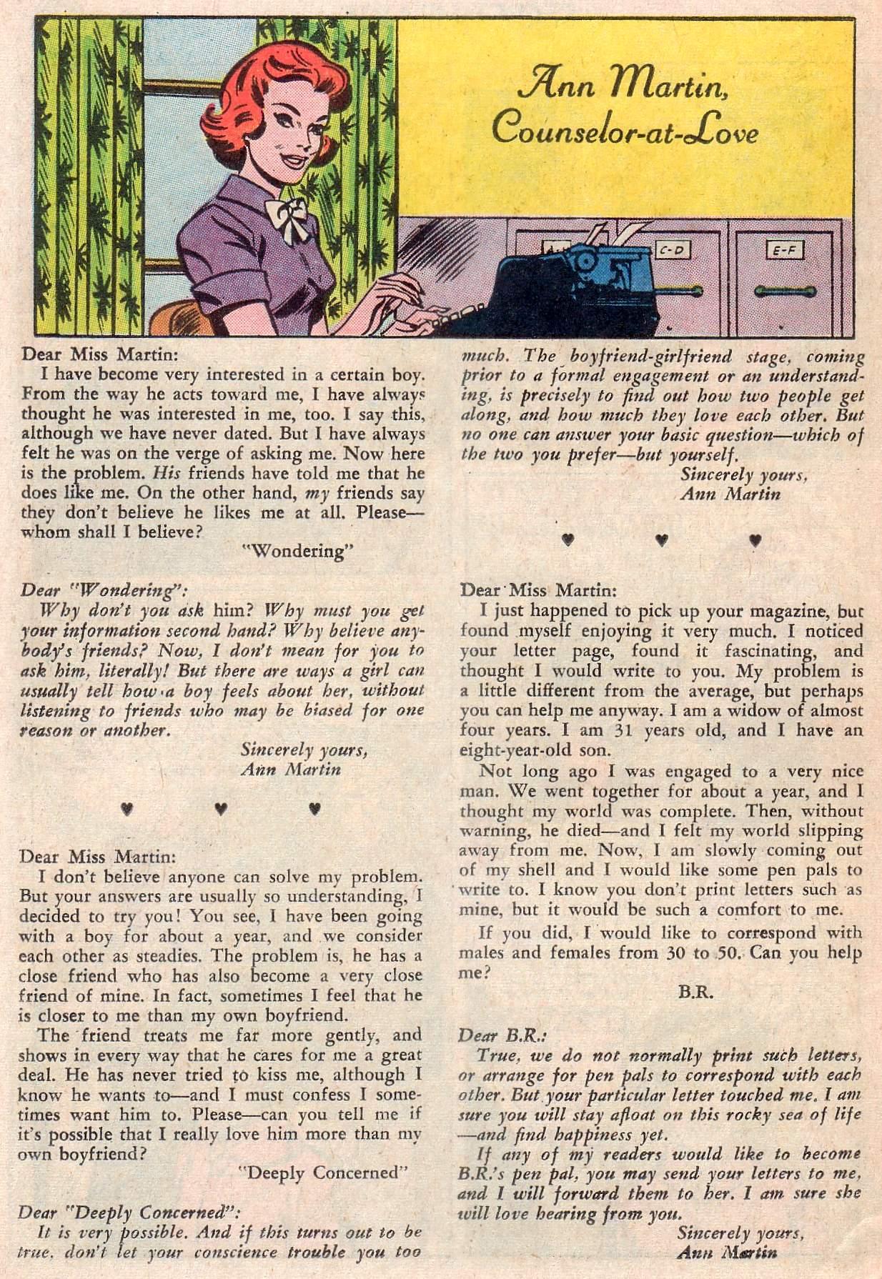 Read online Secret Hearts comic -  Issue #107 - 26