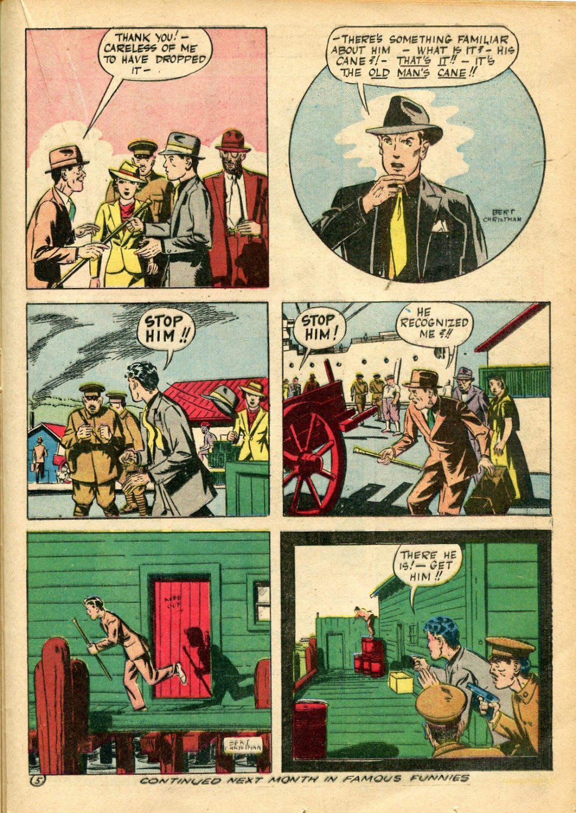 Read online Famous Funnies comic -  Issue #110 - 39