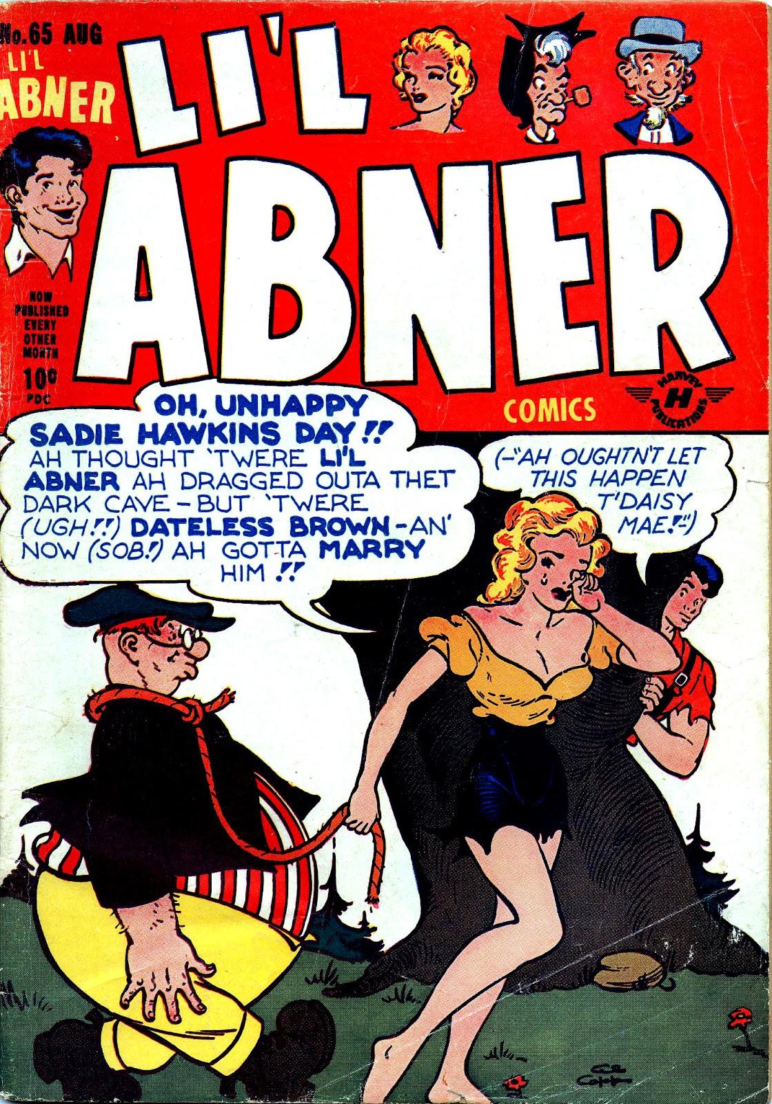 Li'l Abner Comics issue 65 - Page 1