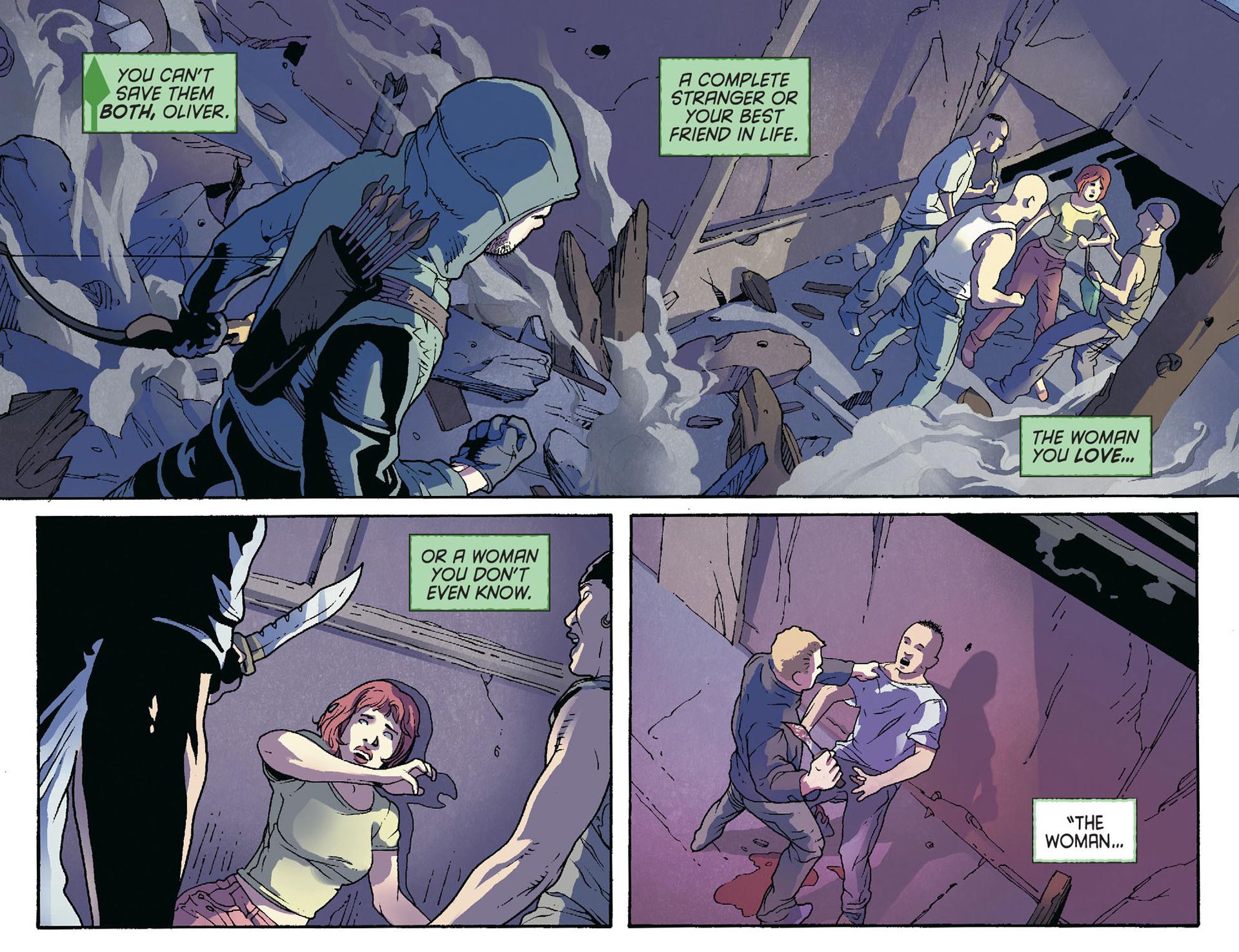 Read online Arrow [II] comic -  Issue #36 - 3