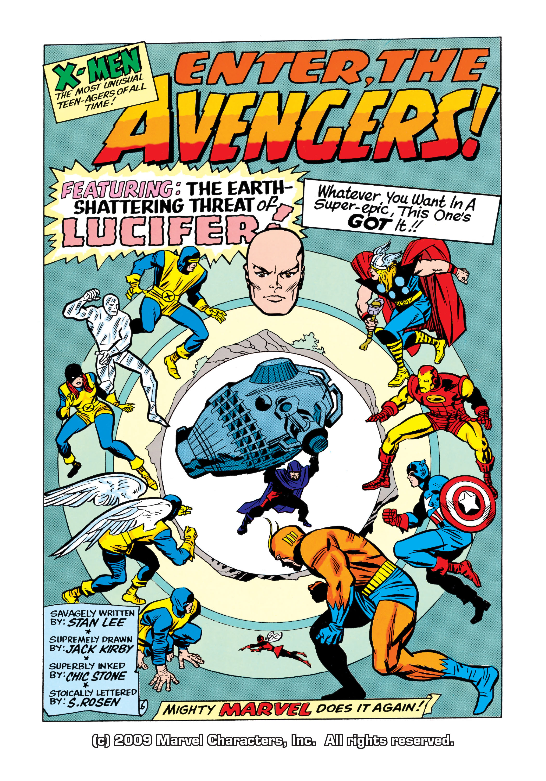 Read online Uncanny X-Men (1963) comic -  Issue #9 - 2