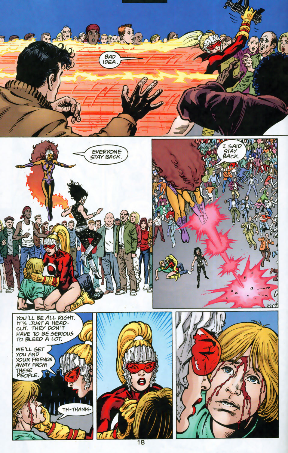 Read online The Titans (1999) comic -  Issue #49 - 19