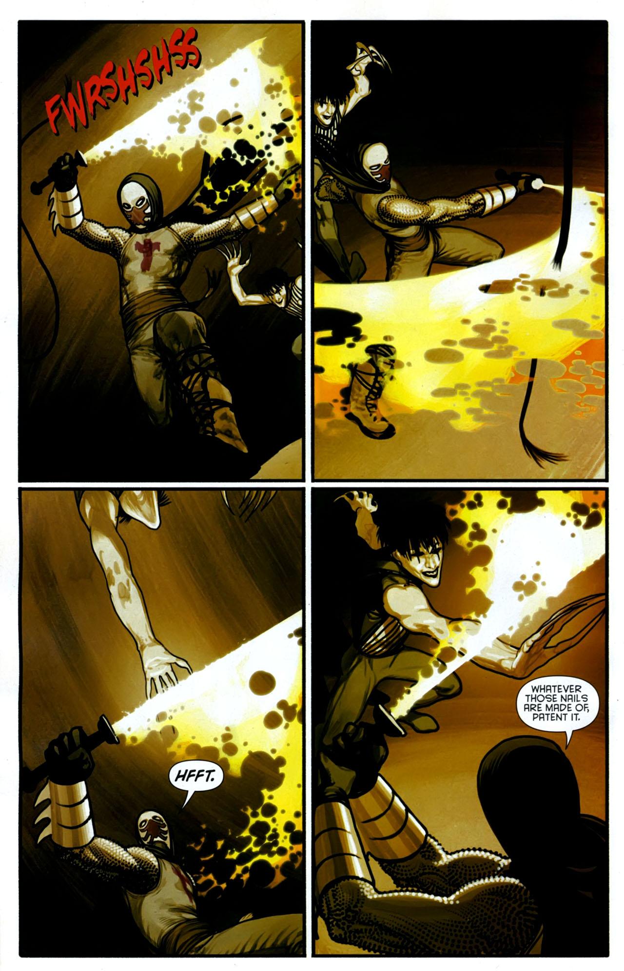Read online Azrael: Death's Dark Knight comic -  Issue #2 - 9