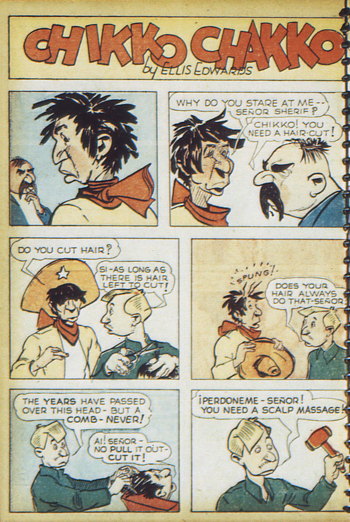 Read online Adventure Comics (1938) comic -  Issue #17 - 61