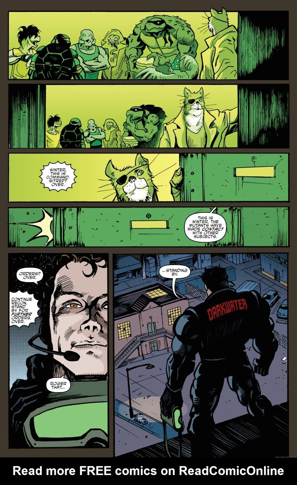 Read online Teenage Mutant Ninja Turtles: The IDW Collection comic -  Issue # TPB 7 (Part 1) - 51