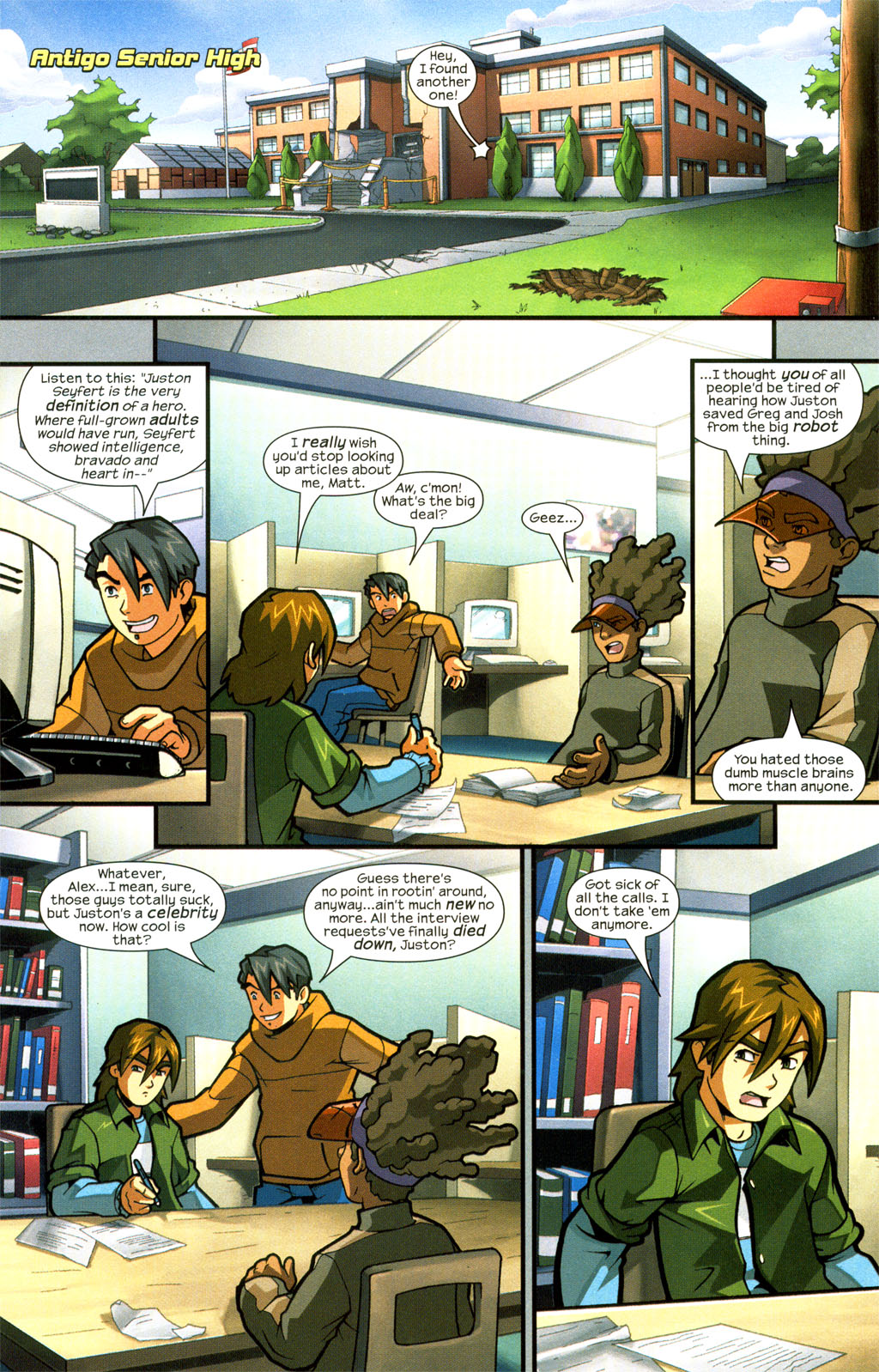 Read online Sentinel comic -  Issue #7 - 6