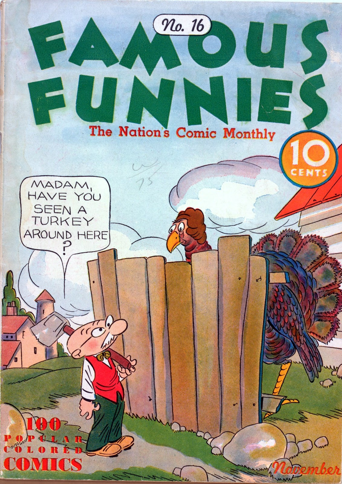 Read online Famous Funnies comic -  Issue #16 - 1