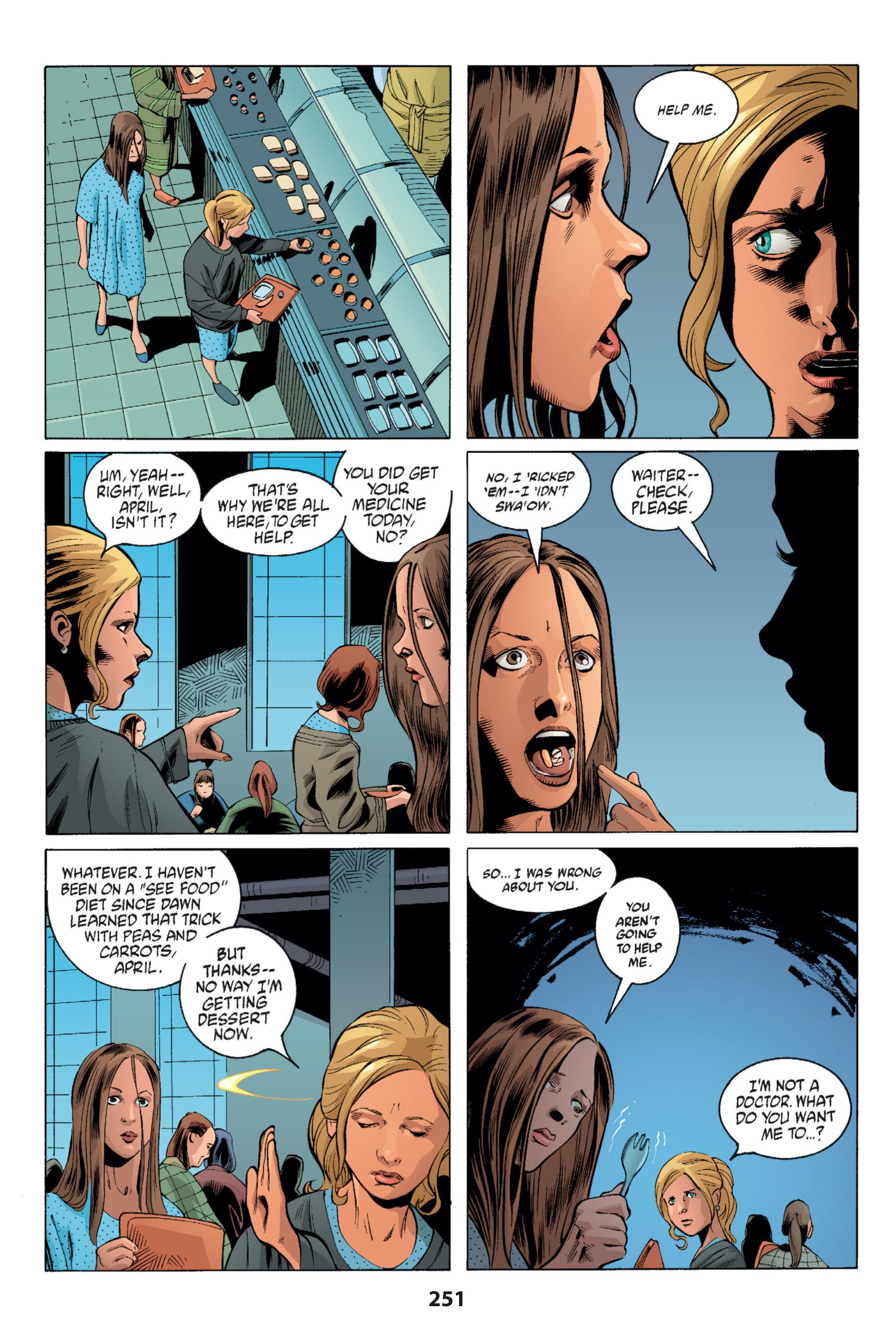 Read online Buffy the Vampire Slayer: Omnibus comic -  Issue # TPB 1 - 244