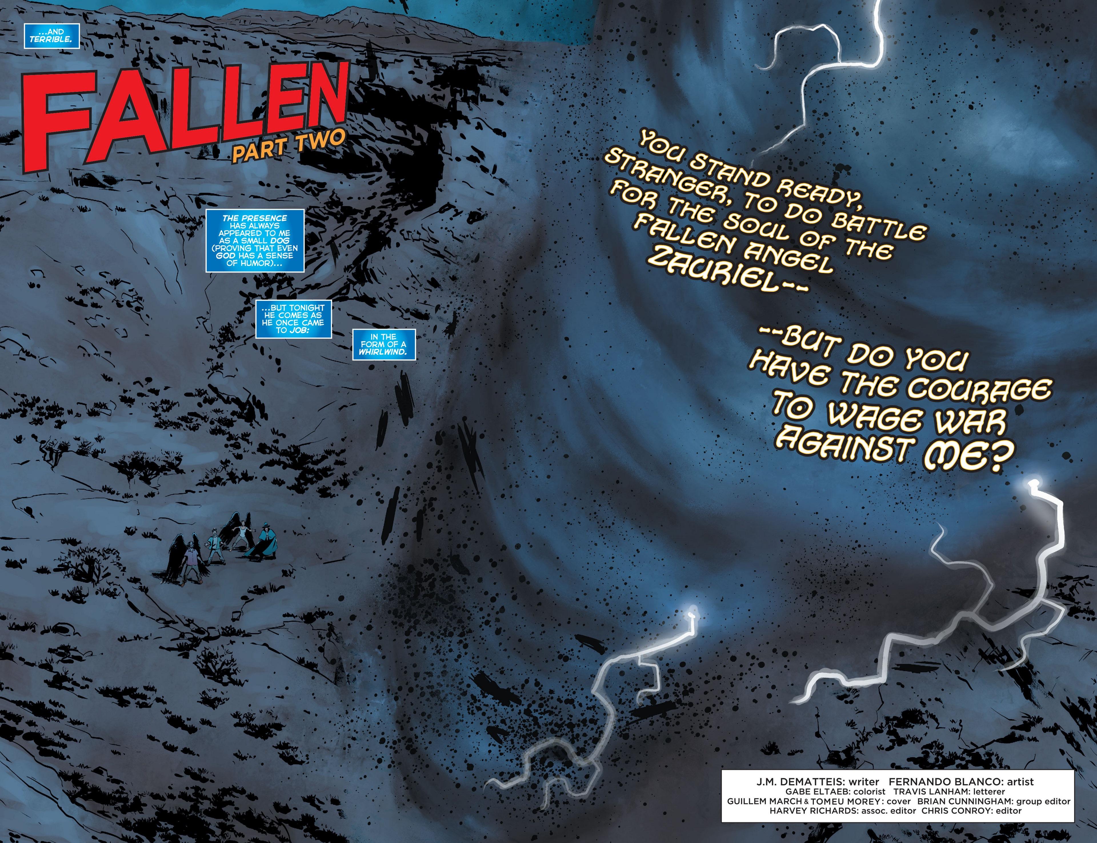 Read online Trinity of Sin: The Phantom Stranger comic -  Issue #22 - 3