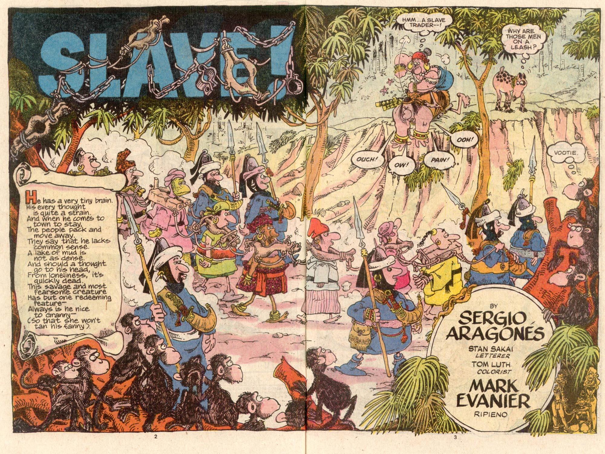 Read online Sergio Aragonés Groo the Wanderer comic -  Issue #43 - 3