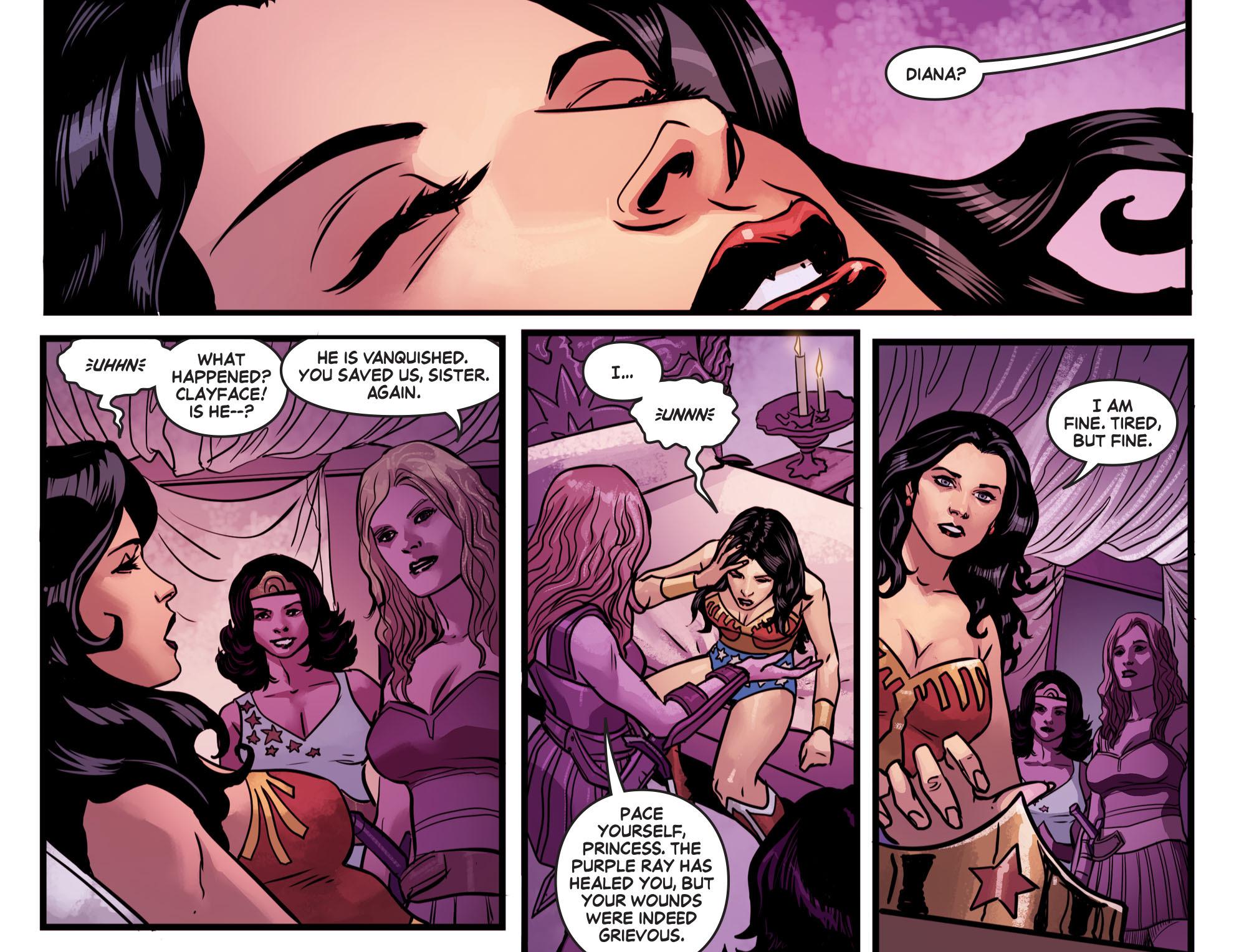 Read online Wonder Woman '77 [I] comic -  Issue #15 - 19