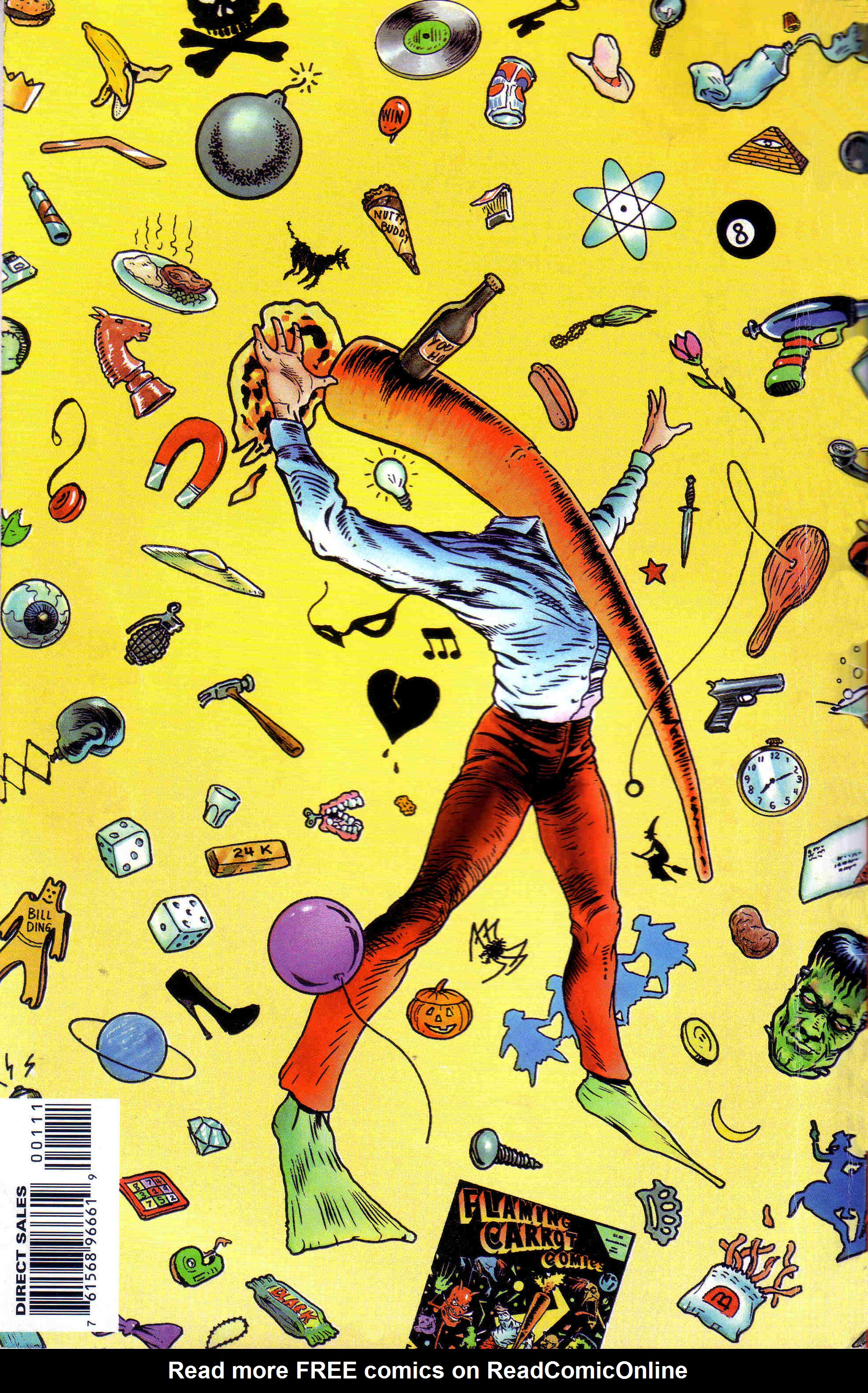 Read online Flaming Carrot Comics (1988) comic -  Issue # _Annual 1 - 68