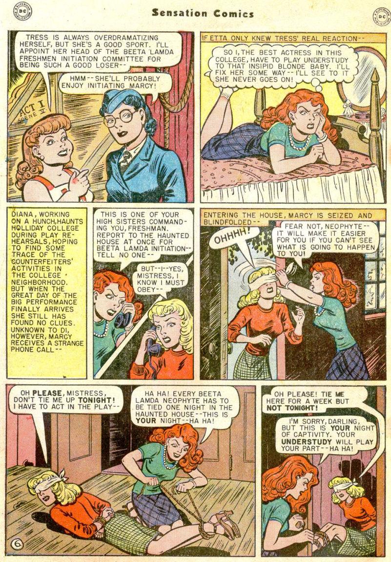 Read online Sensation (Mystery) Comics comic -  Issue #77 - 8