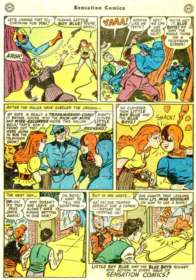 Read online Sensation (Mystery) Comics comic -  Issue #77 - 22