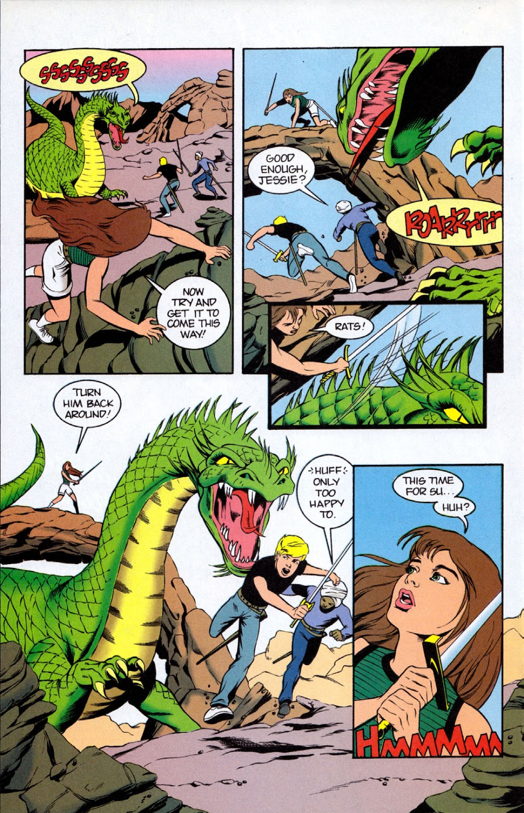 Read online The Real Adventures of Jonny Quest comic -  Issue #8 - 20